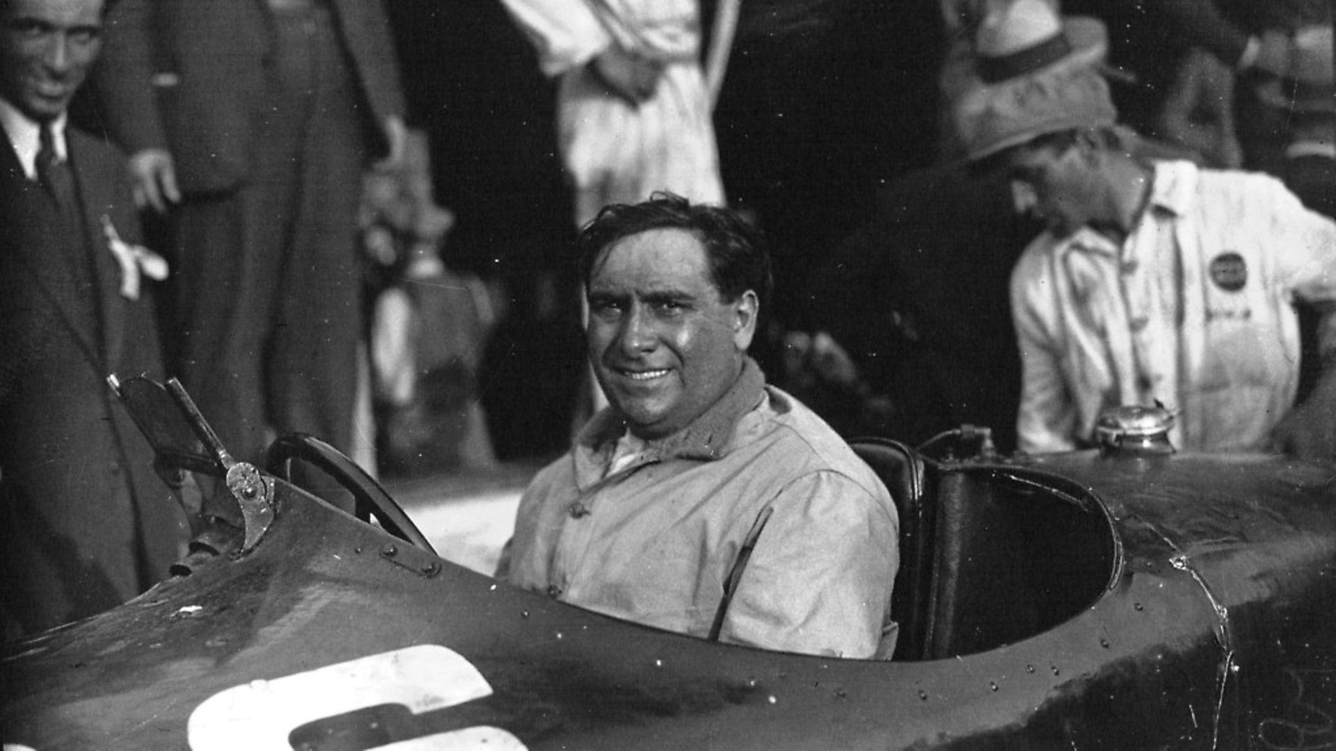 Giusepp Camari, June 8, 1892 - September 10, 1933, was a world famous opera singer and racing driver. - Credit: Archant