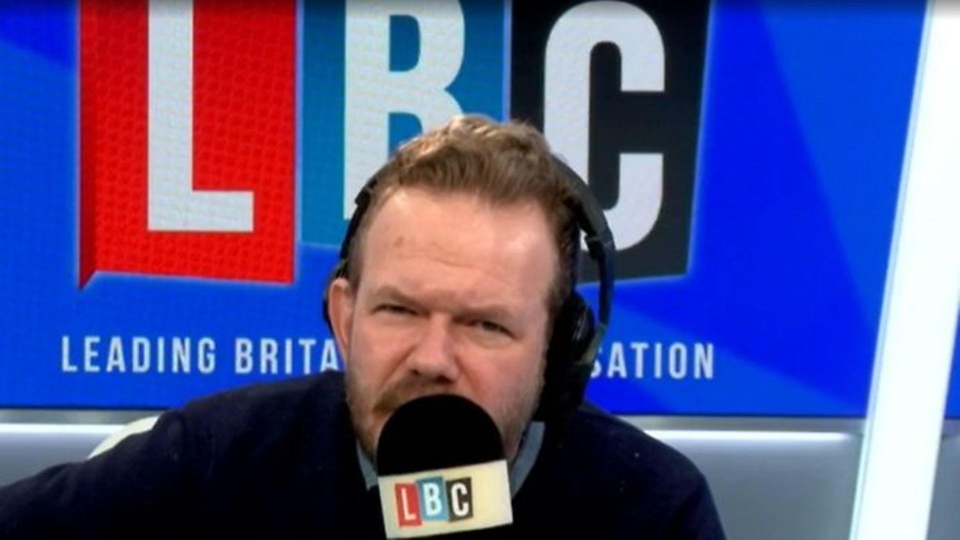 LBC presenter James O'Brien - Credit: LBC