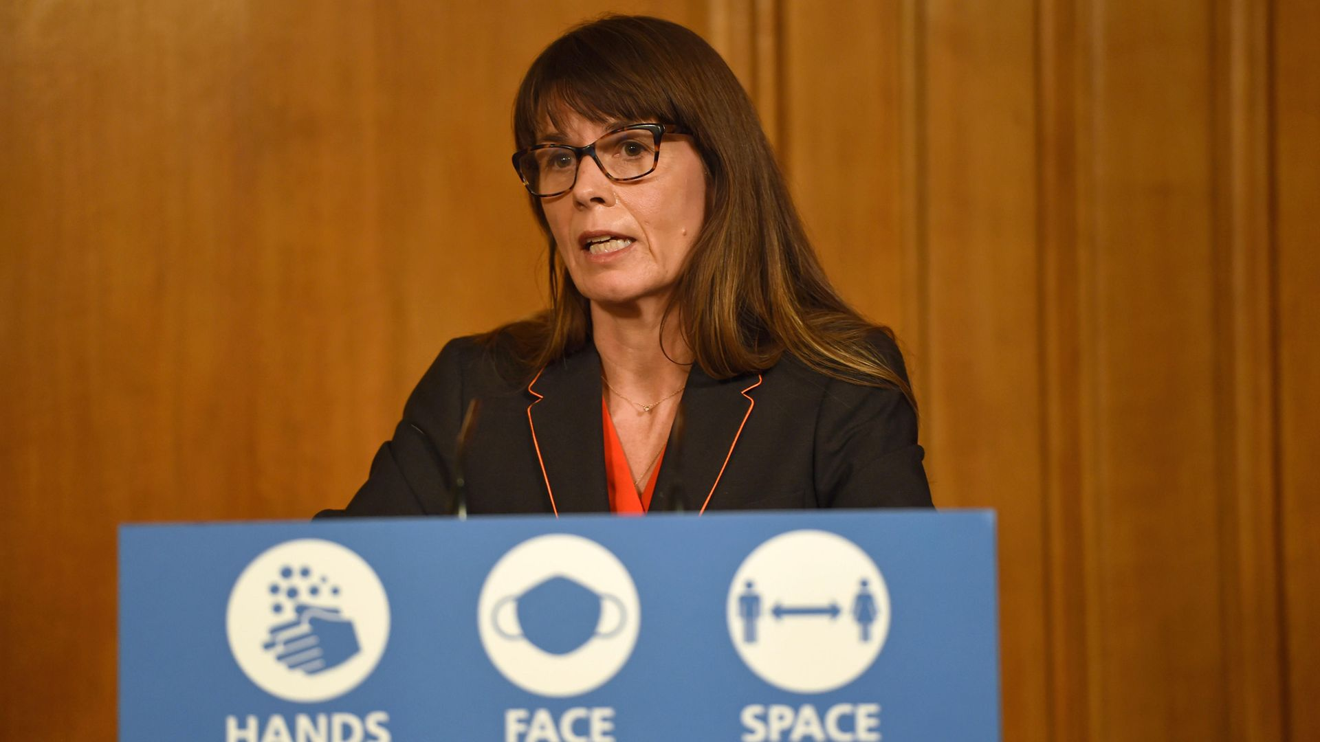 Dr Susan Hopkins during a media briefing in Downing Street, London, on coronavirus (COVID-19) - Credit: PA