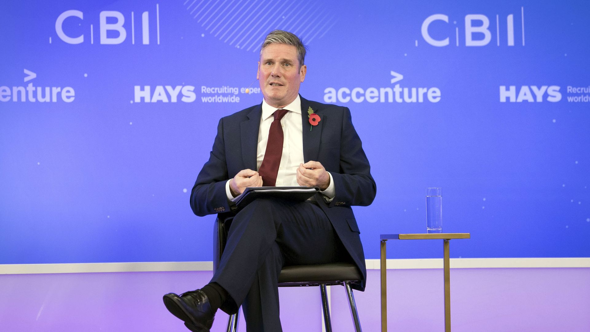 Labour Party leader Sir Keir Starmer speaking during the CBI annual conference at ITN Headquarters in central London. - Credit: PA