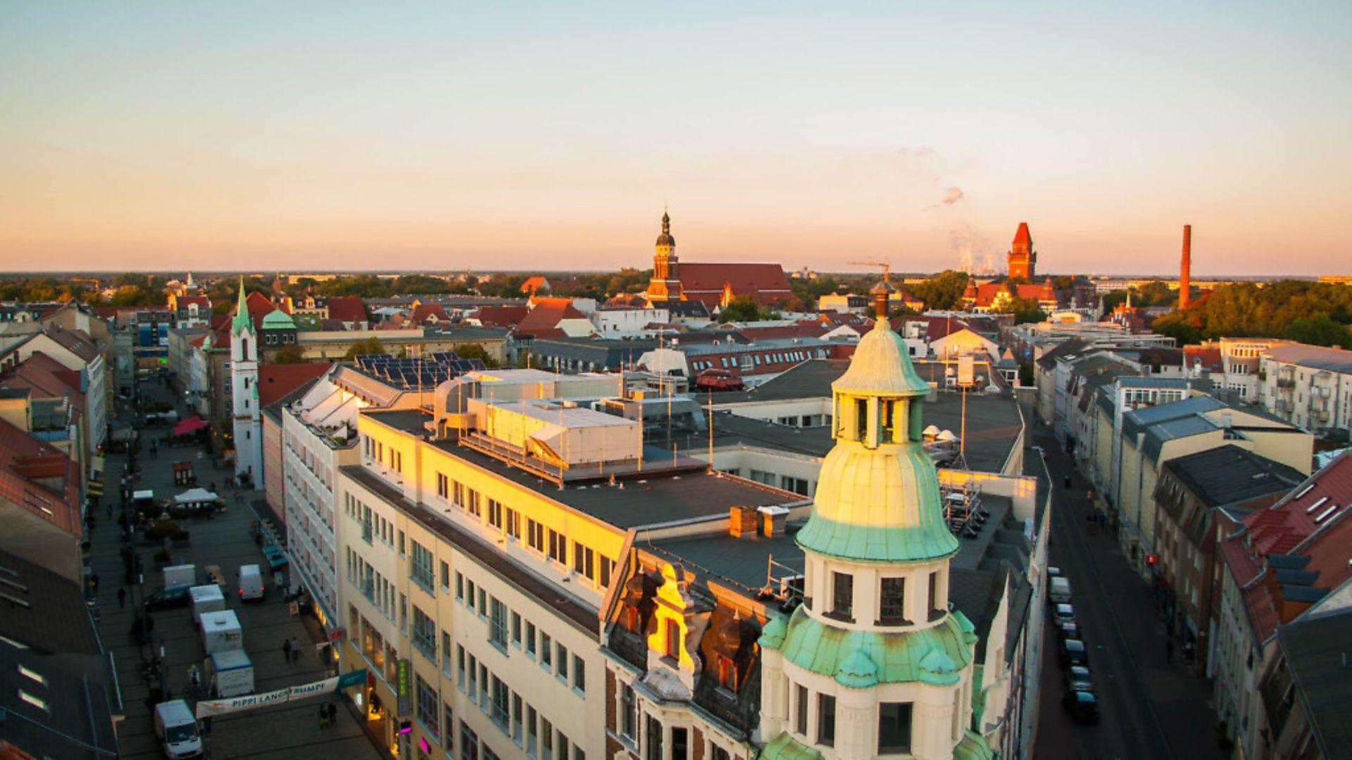 The view over the German city of Cottbus where Lower Sorbian is still spoken. Photo:Teodor Bordeianu - Credit: Teodor Bordeianu