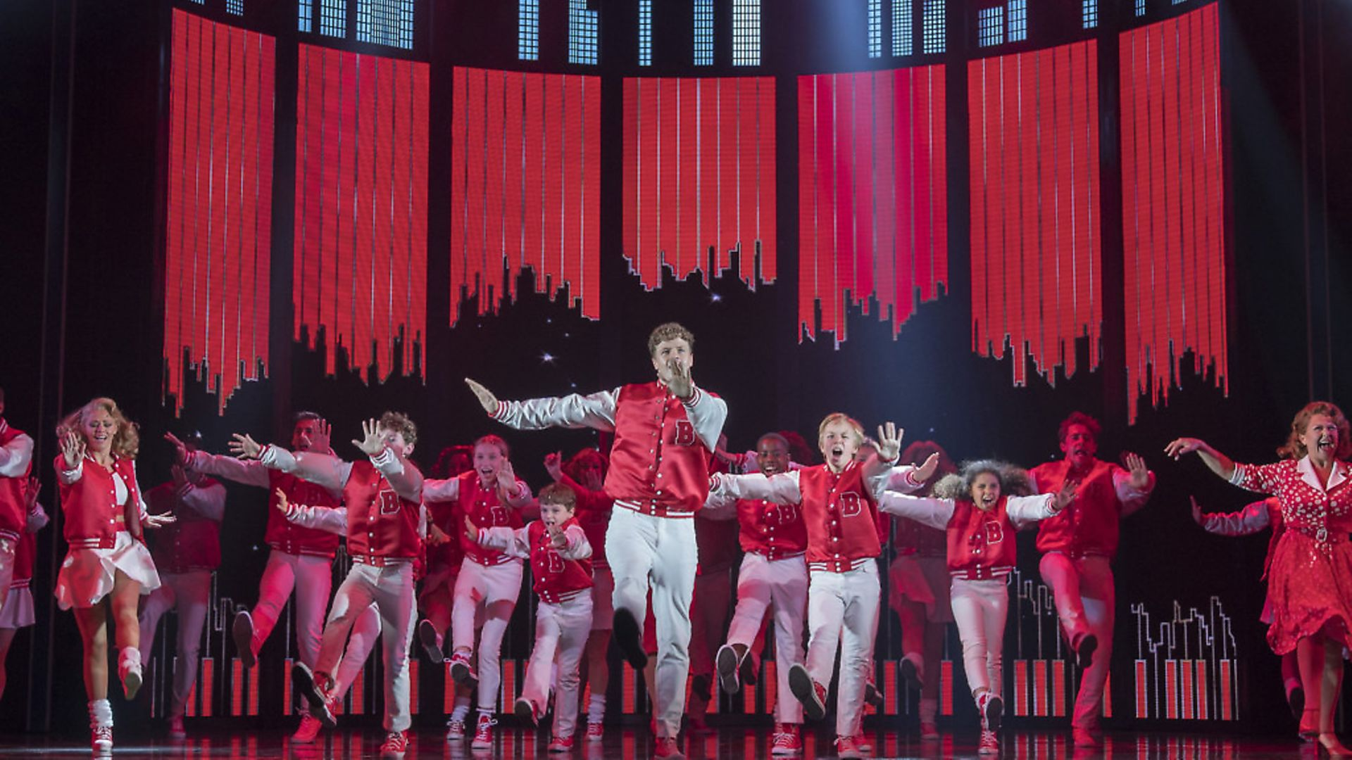 Big The Musical performed at the Dominion Theatre . Photograph: Alastair Muir. - Credit: Alastair Muir