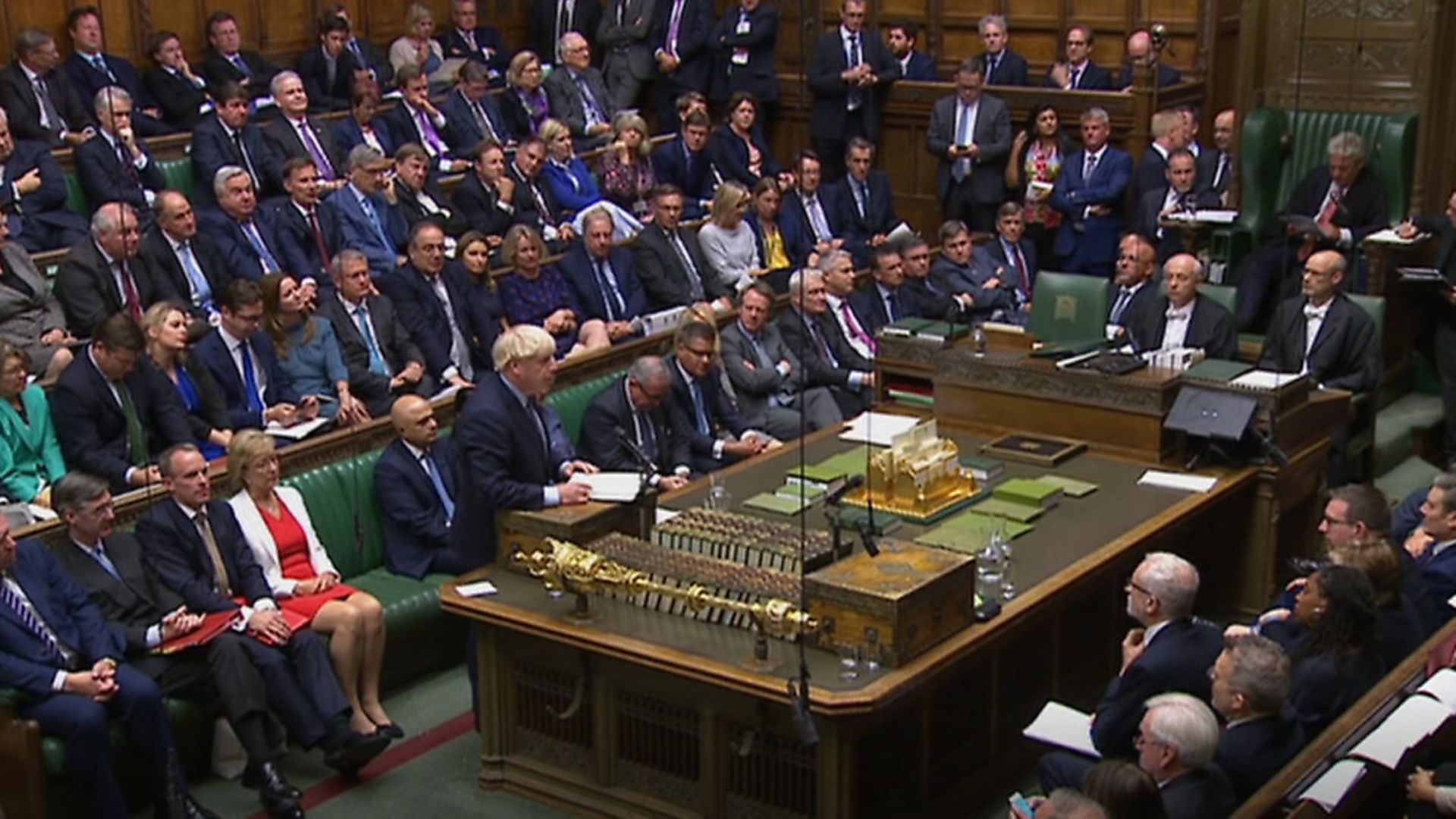 Boris Johnson speaks in the House of Commons. (PA Wire/PA Images) - Credit: PA Wire/PA Images
