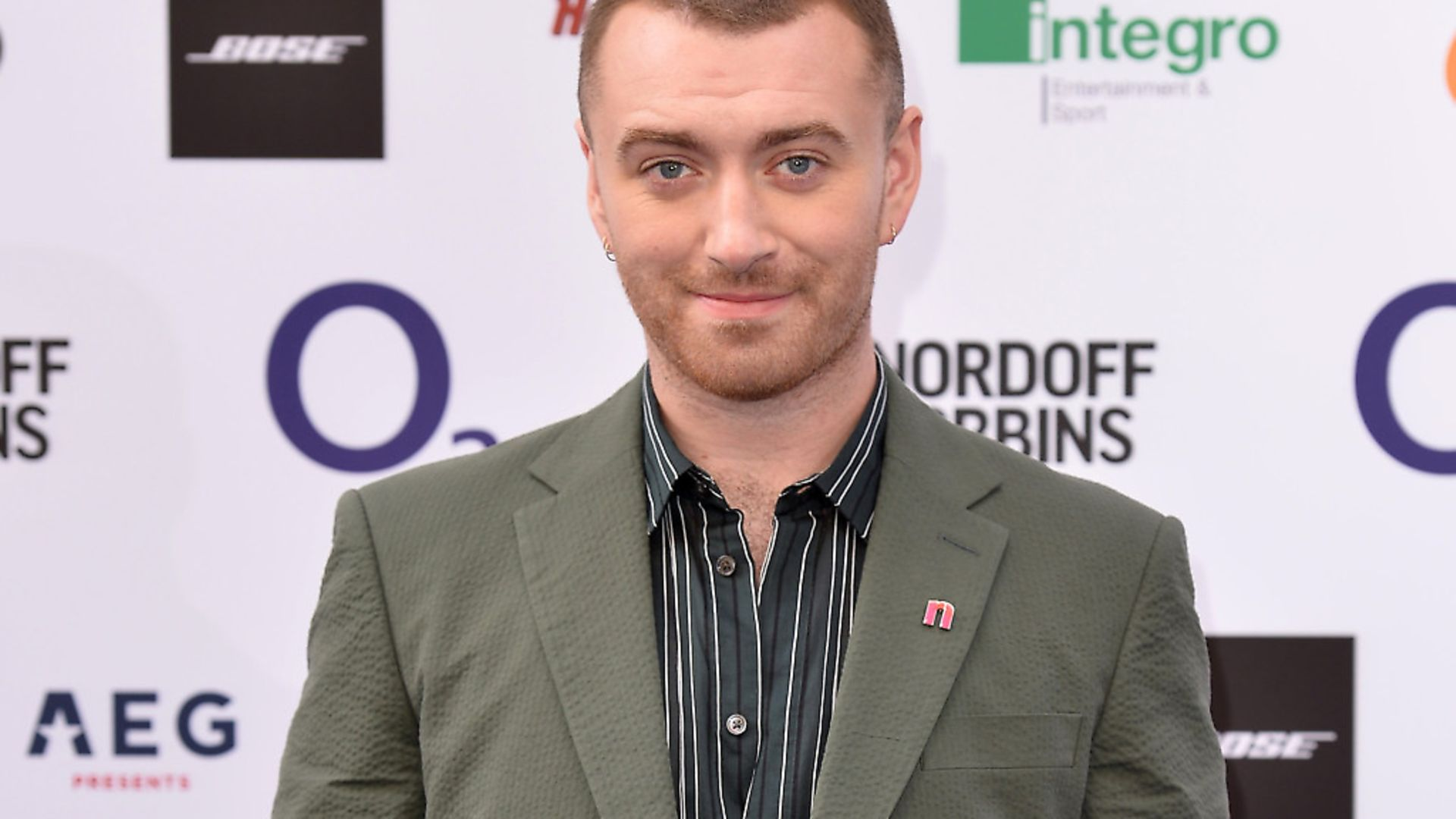 """Sam Smith has asked to be referred to as """"they"""" and """"them"""".Photo by Jeff Spicer/Getty Images - Credit: Getty Images"""