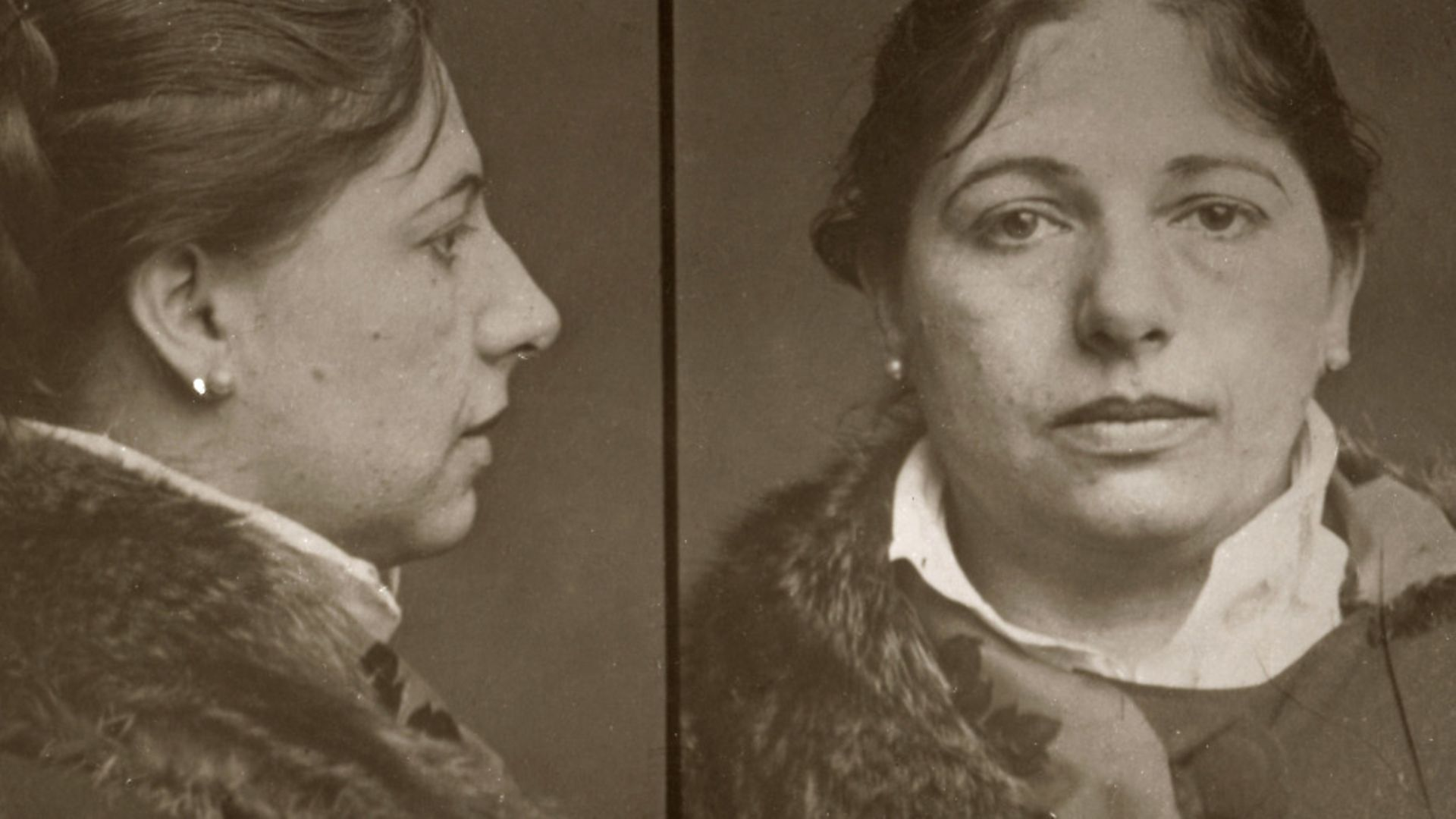 Mugshot of Mata Hari, 13.02.1917, 1917. Private Collection. Photo: Fine Art Images/Heritage Images/Getty Images - Credit: Getty Images