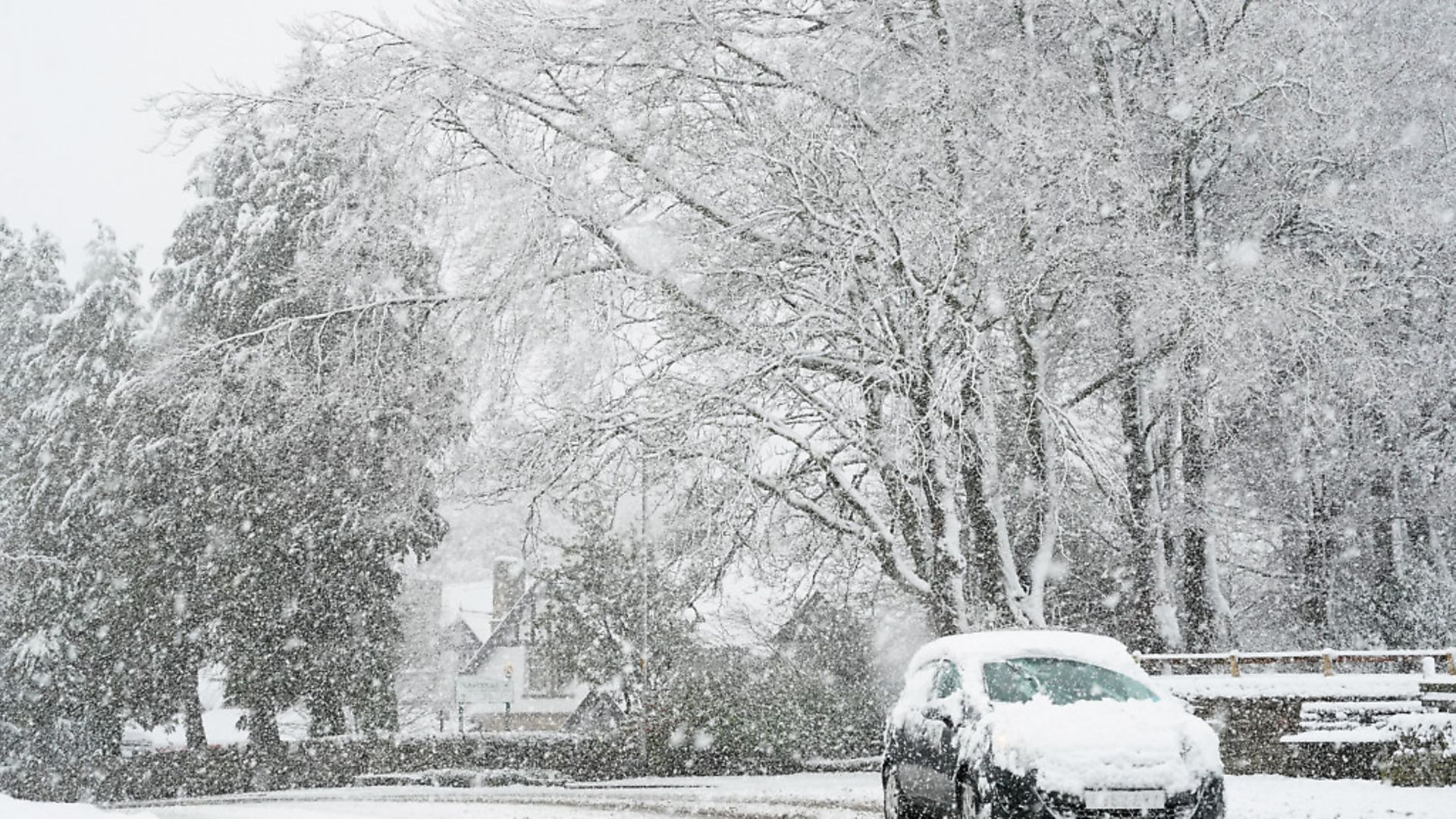 Heavy snow. Photo: Owne Humphreys/PA Archive/PA Images - Credit: PA Archive/PA Images
