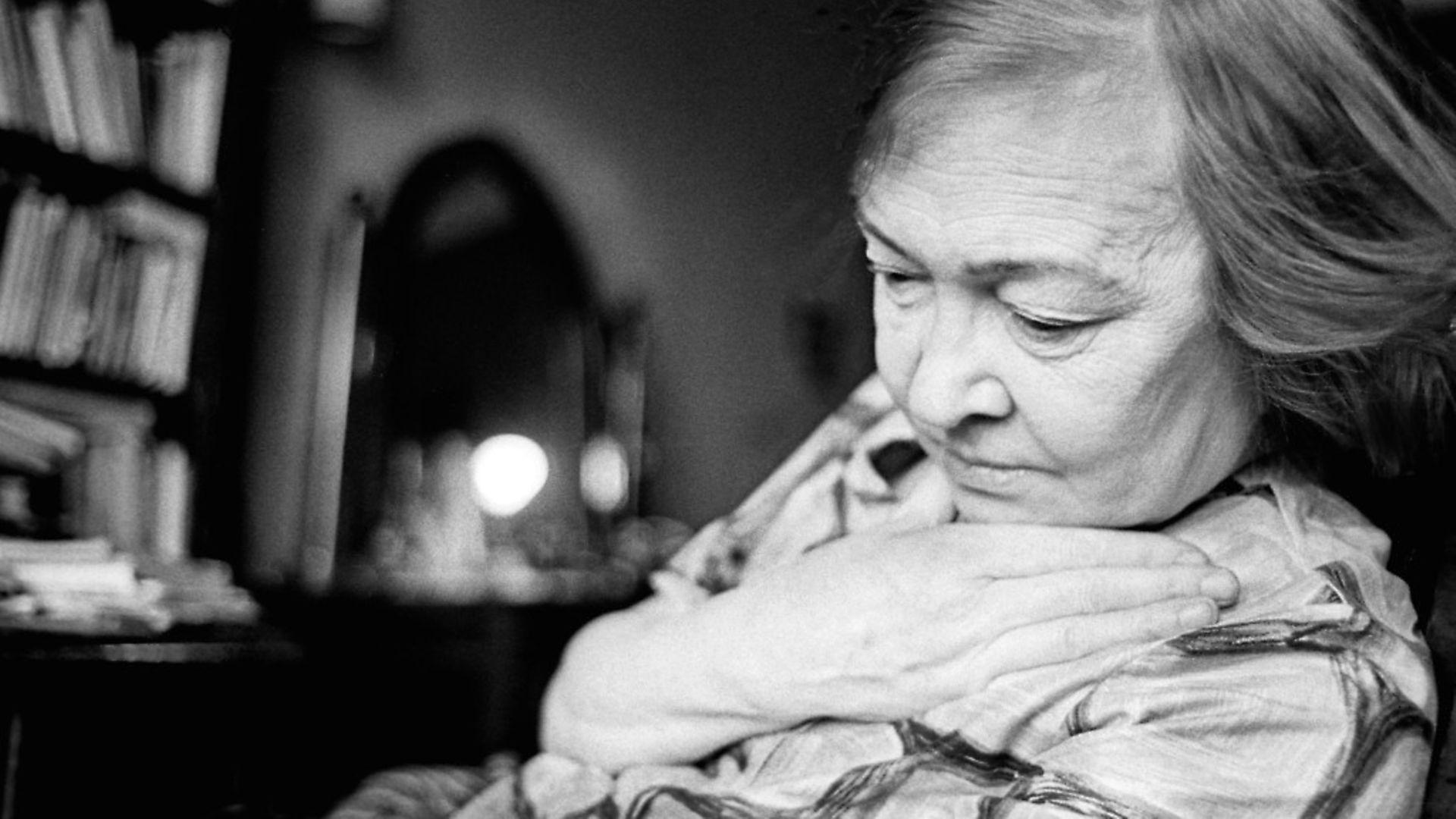 Soviet poet Olga Fyodorovna Bergholz (1910 - 1975) in Leningrad, 1973. Photo: Leonid Lazarev/Getty Images - Credit: Getty Images