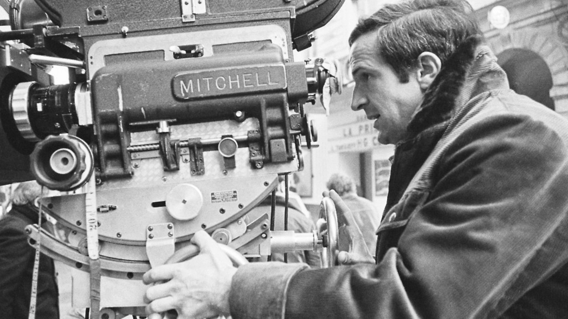 French director Francois Truffaut on the set of his 1969 film La Sirene du Mississipi (Mississippi Mermaid). (Photo by Alain Dejean/Sygma via Getty Images) - Credit: Sygma via Getty Images