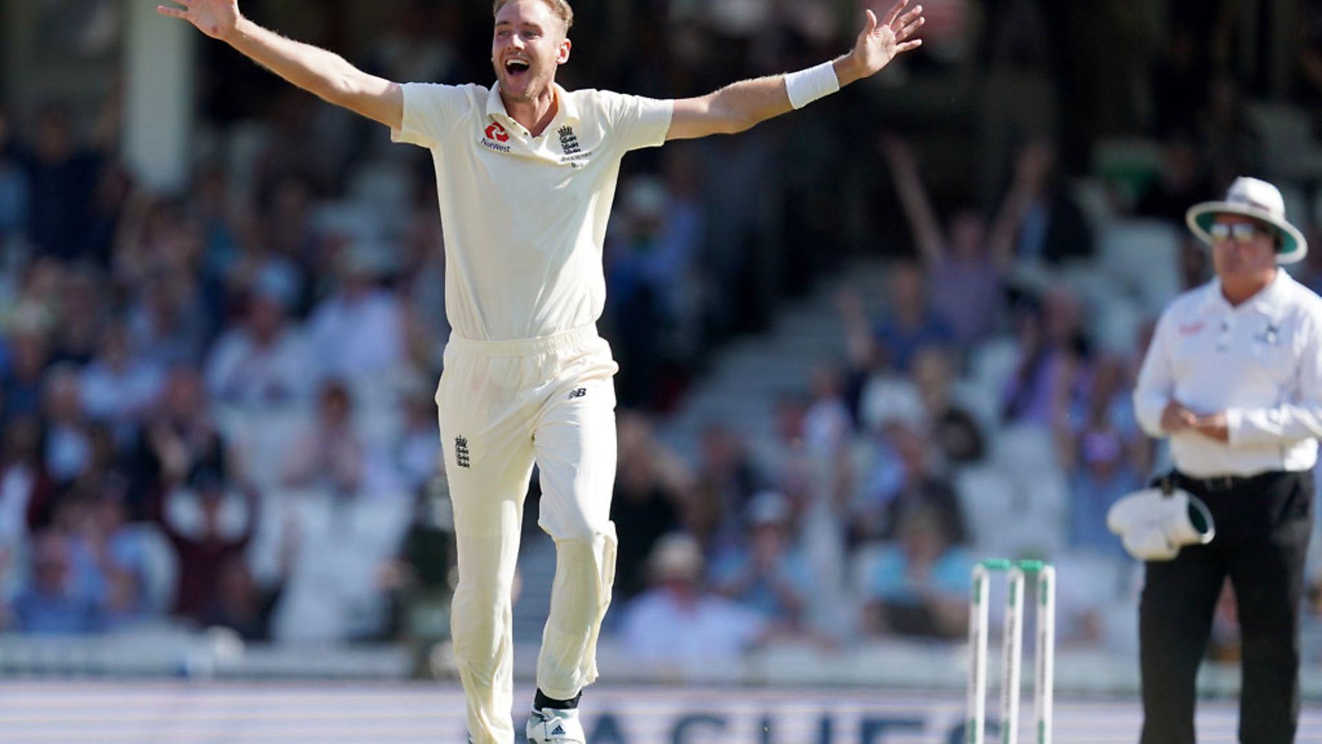 England cricketer Stuart Broad. Picture: PA/John Walton - Credit: PA Wire/PA Images