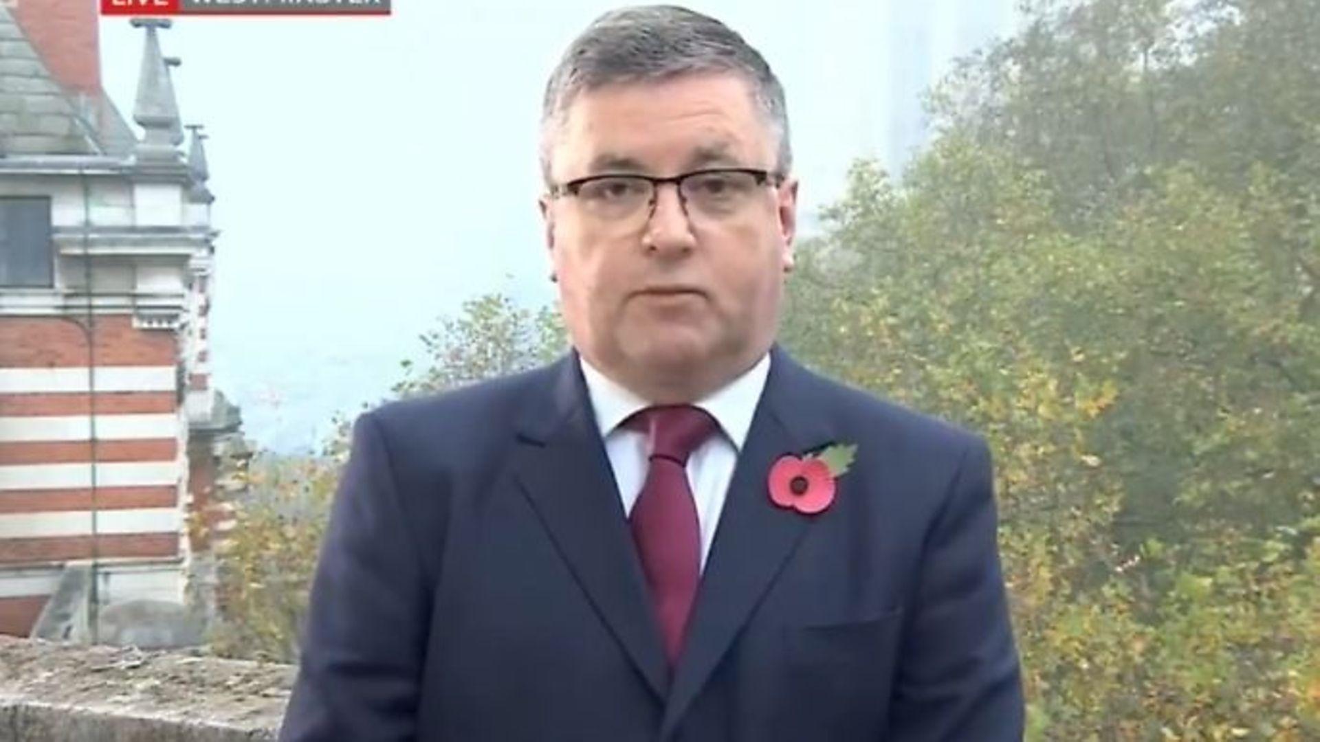 Justice secretary Robert Buckland on BBC Breakfast - Credit: Twitter