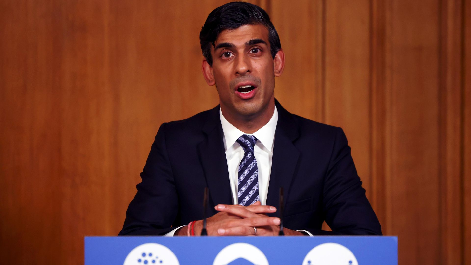 Chancellor of the Exchequer Rishi Sunak - Credit: Getty Images