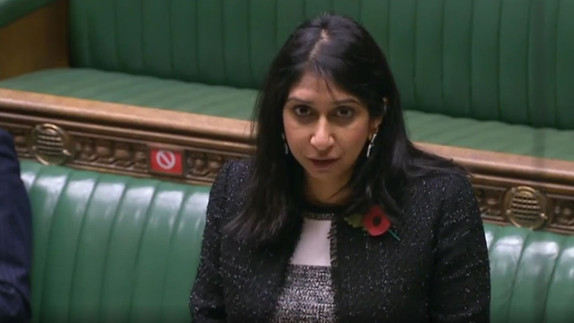 Suella Braverman in the House of Commons - Credit: Parliament Live