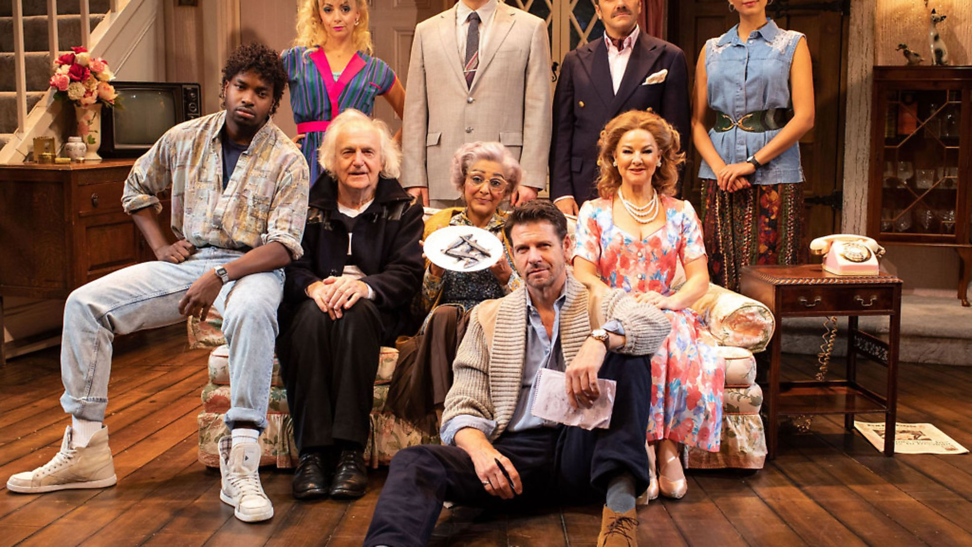 Noises Off at The Garrick Theatre - Credit: Helen Maybanks