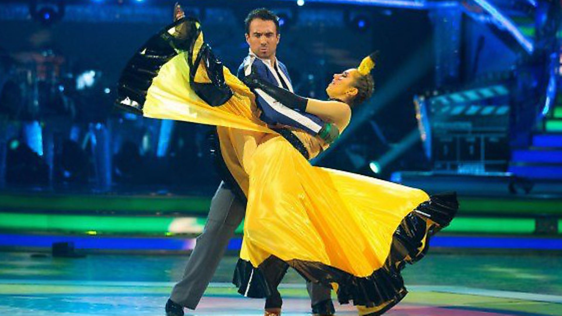 Paralympian Will Bayley and partner Janette Manrara perform a Paso Doble on Strictly Come Dancing. Picture: BBC - Credit: Archant