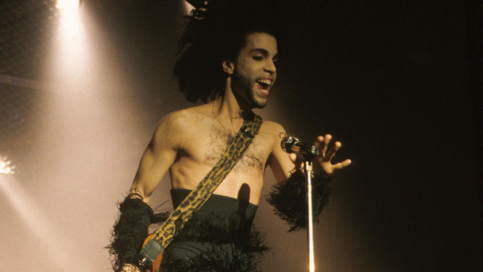Prince performing in Minneapolis in 1990. - Credit: Getty Images