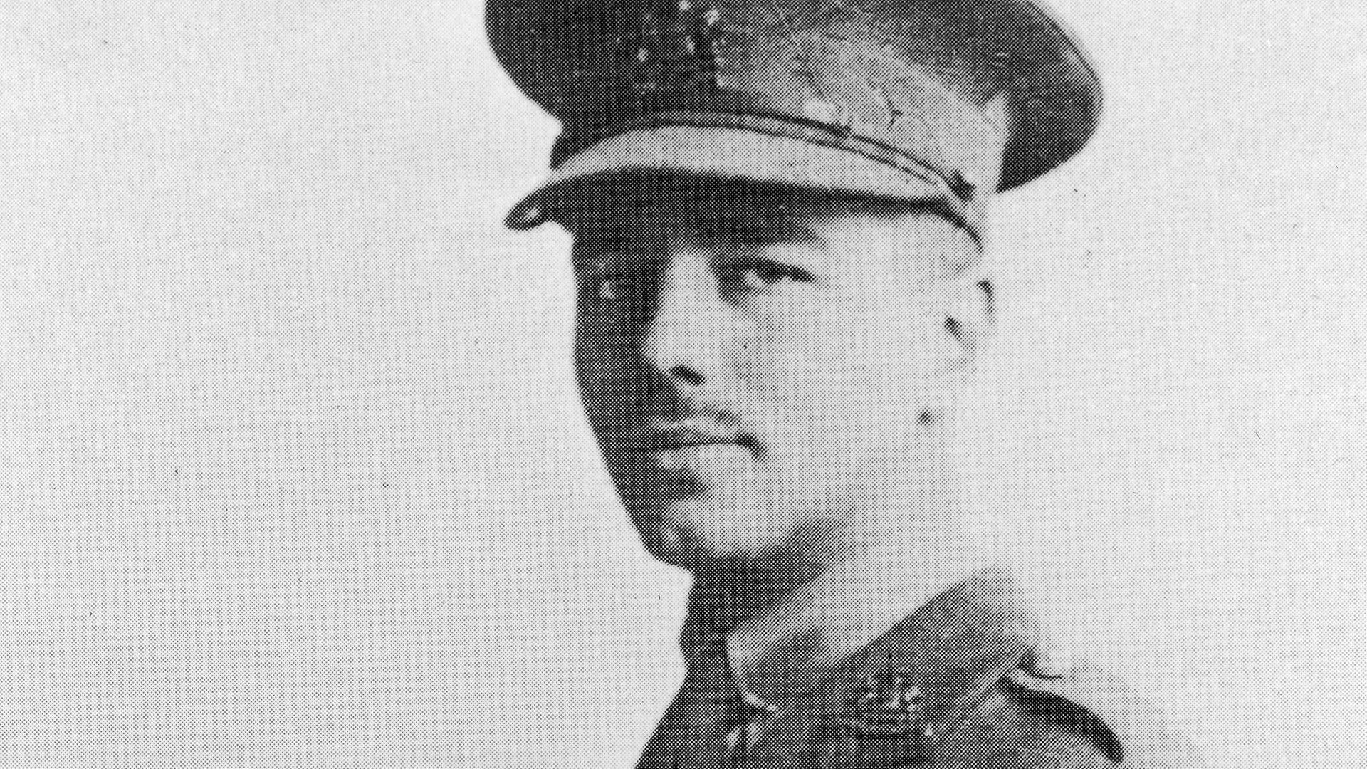 Portrait of Wilfred Owen, circa 1916. - Credit: Getty Images