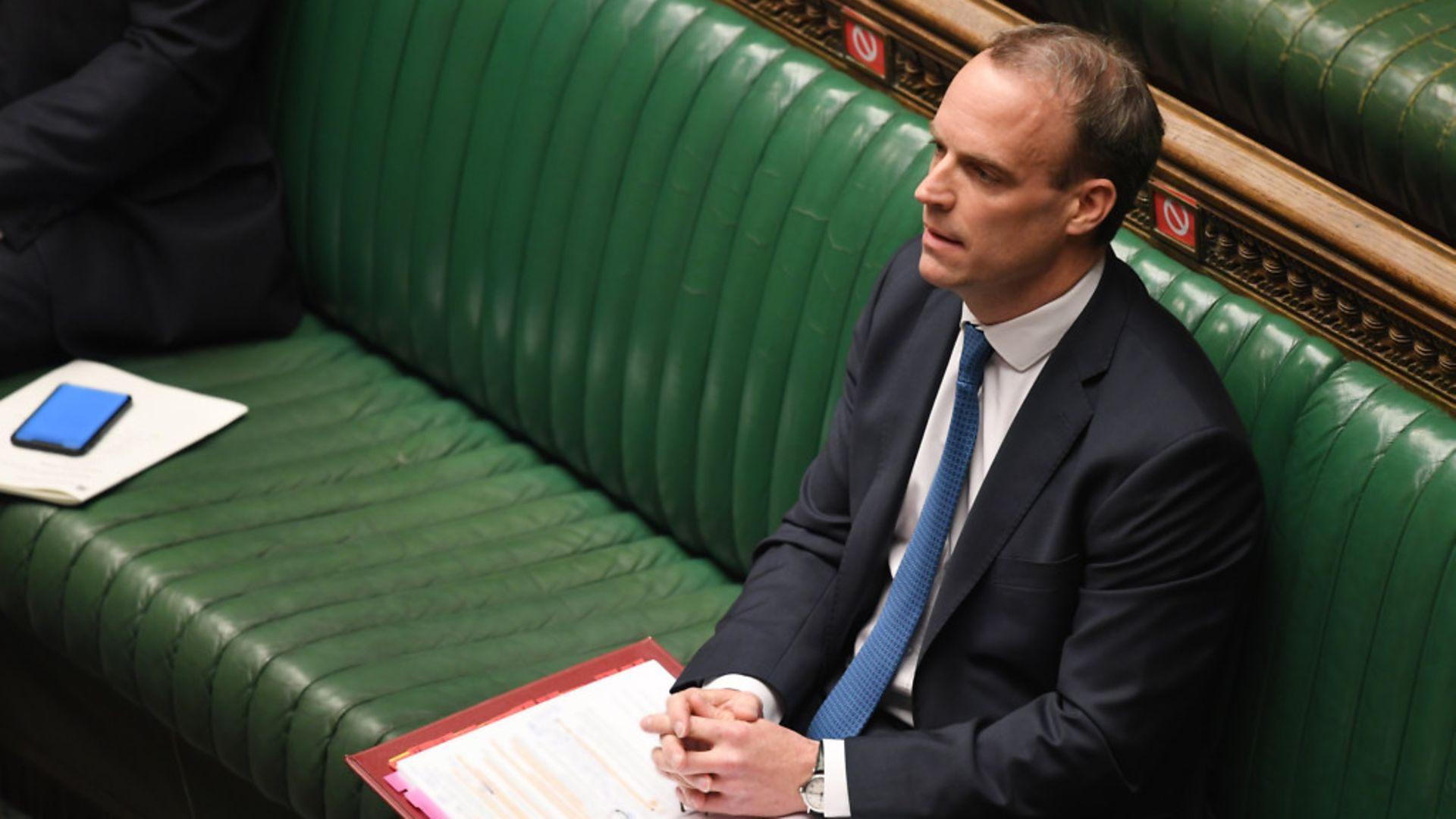 Dominic Raab in the House of Commons - Credit: HOC/JESSICA TAYLOR