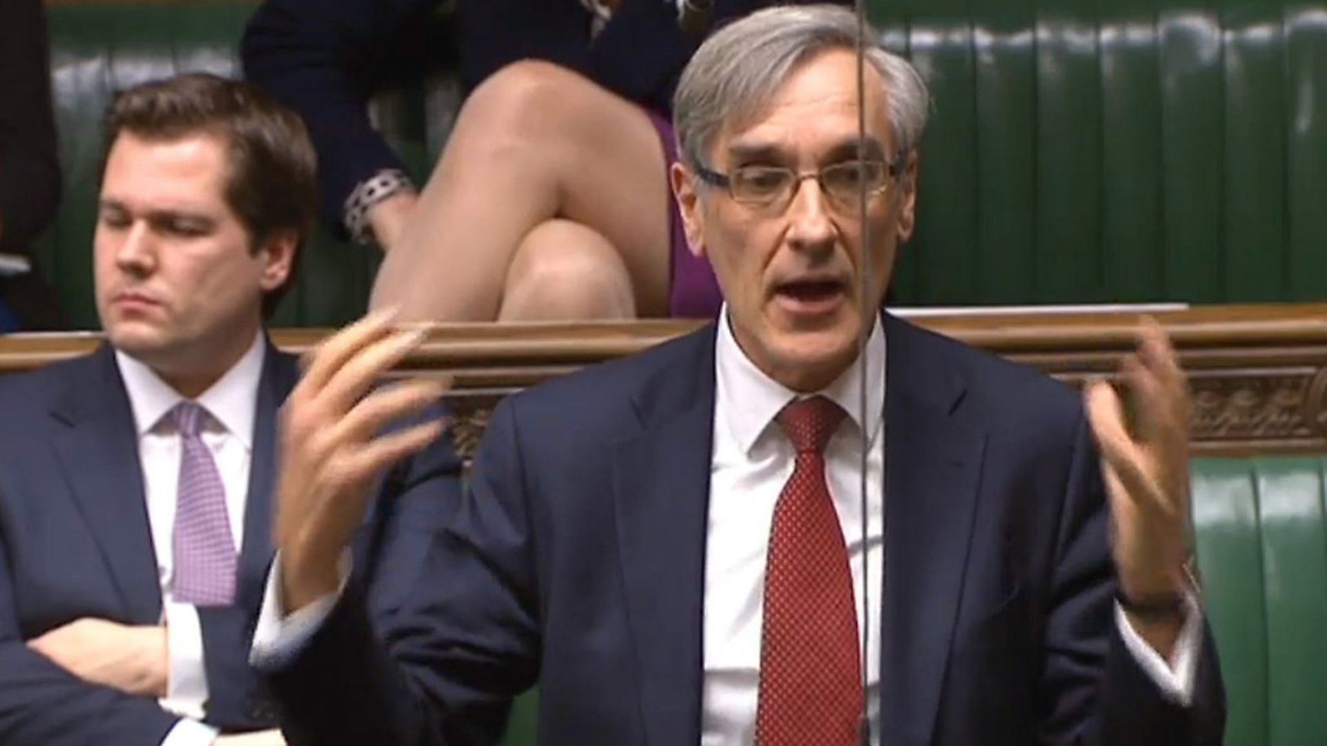 John Redwood speaks in the House of Commons. - Credit: PA Archive/PA Images