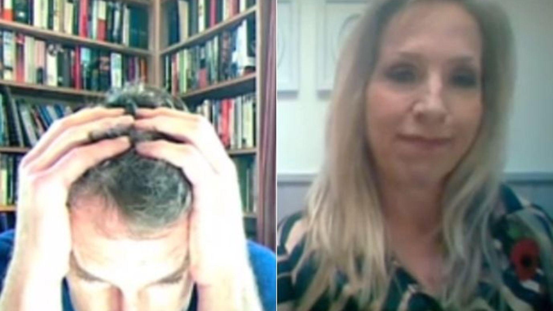 Dan Snow and Lowri Turner debate what Joe Biden's win means for Brexit - Credit: Channel 5