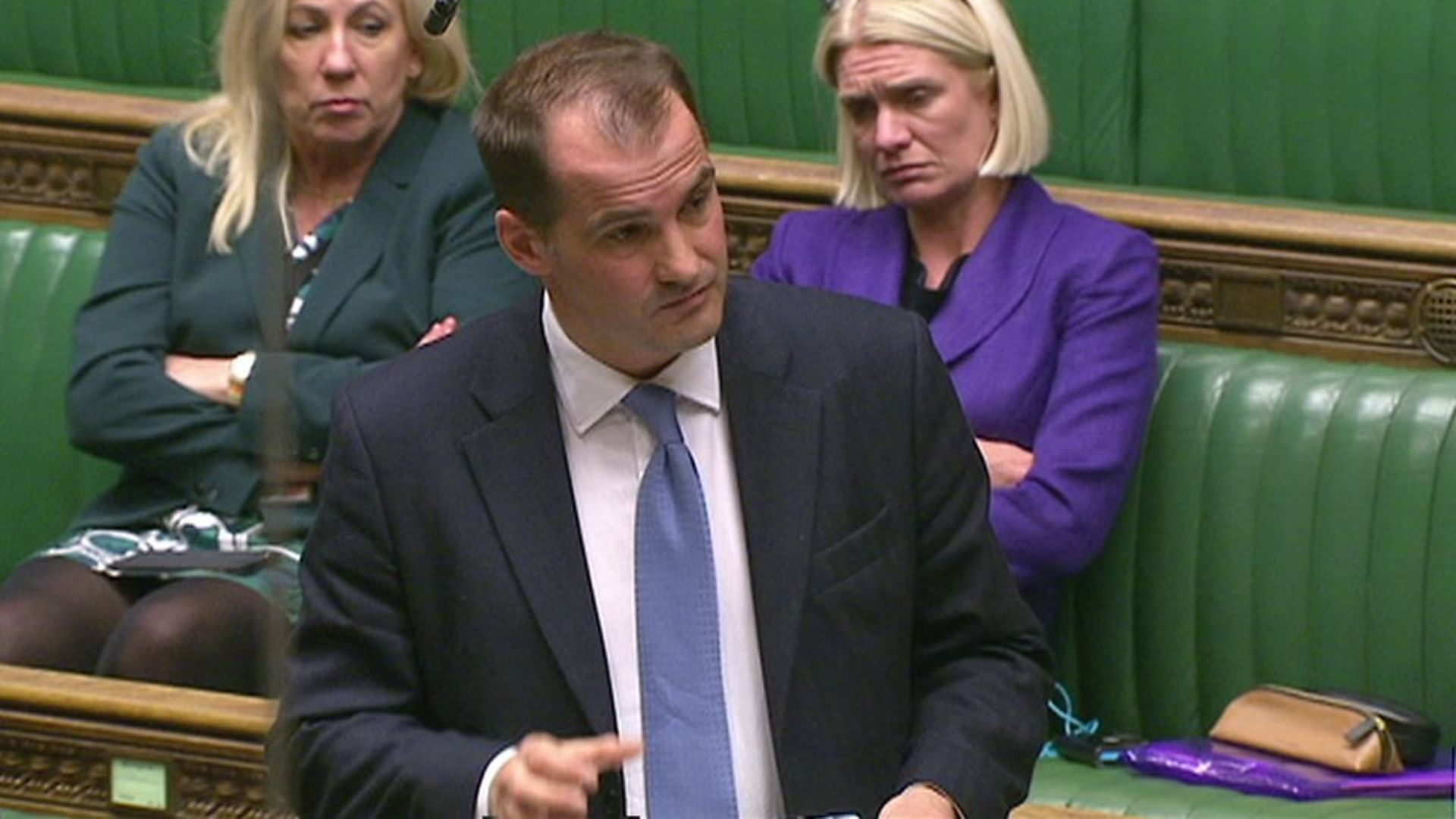 Jake Berry in the House of Commons - Credit: Parliament Live