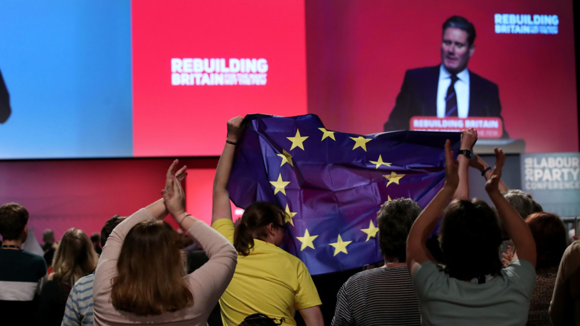 Sir Keir Starmer opens a debate on Brexit during the Labour Party's annual conference. - Credit: PA