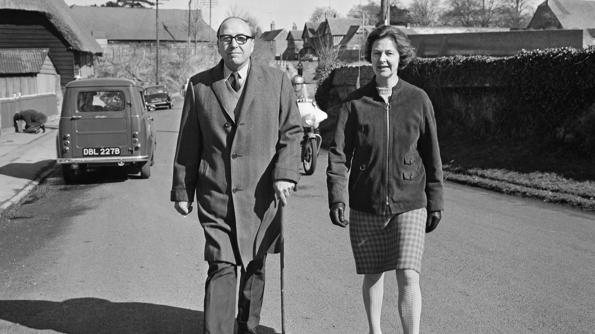British Labour Party, SDP and Liberal Democrat politician and author Roy Jenkins (1920 - 2003) with his wife Jennifer, UK, 18th March 1968. (Photo by Reg Burkett/Daily Express/Getty Images) - Credit: Getty Images