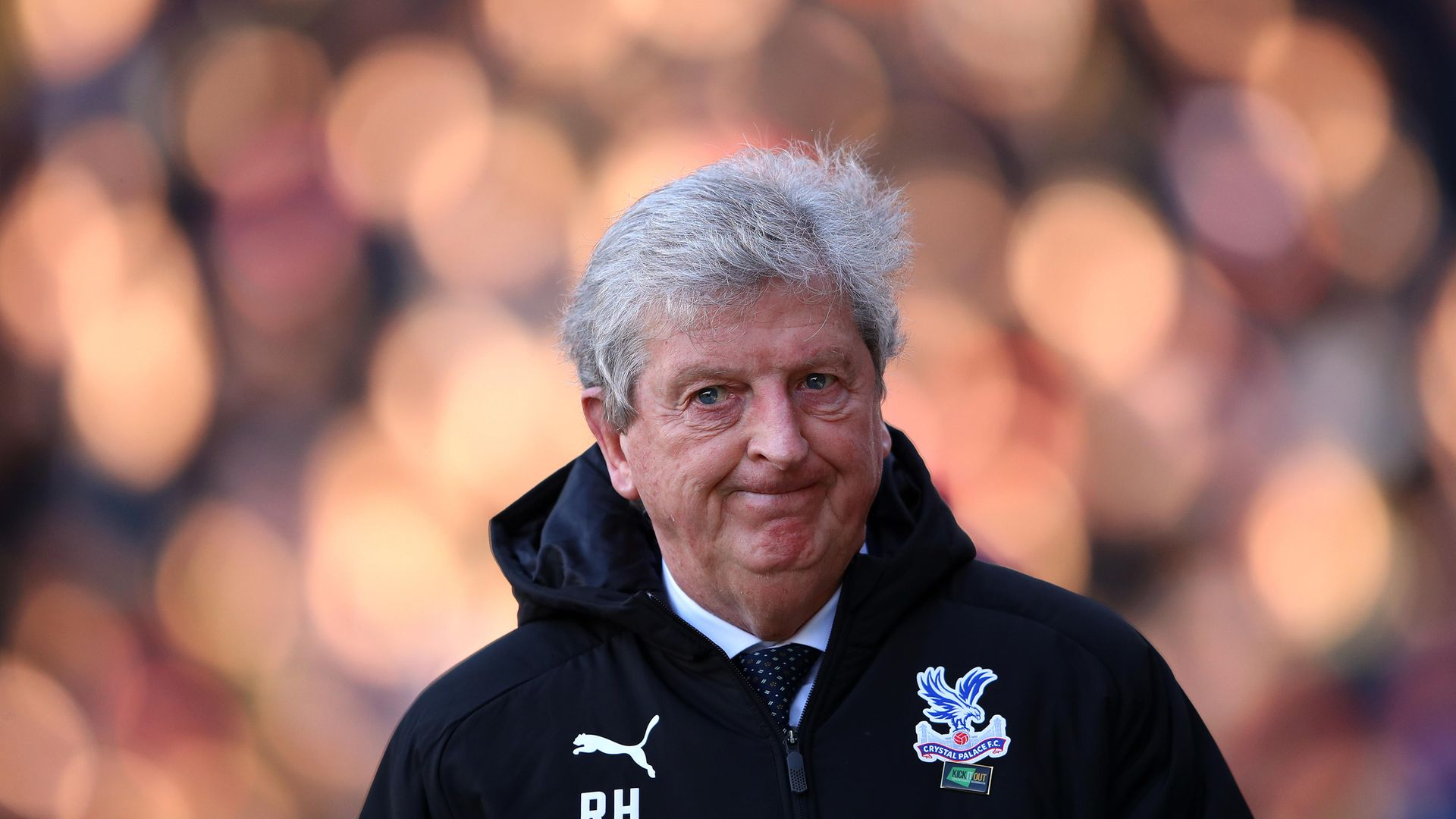 Crystal Palace manager Roy Hodgson. His surname indicates a long-lost relative called 'Roger', or 'Rodge' - Credit: Getty Images