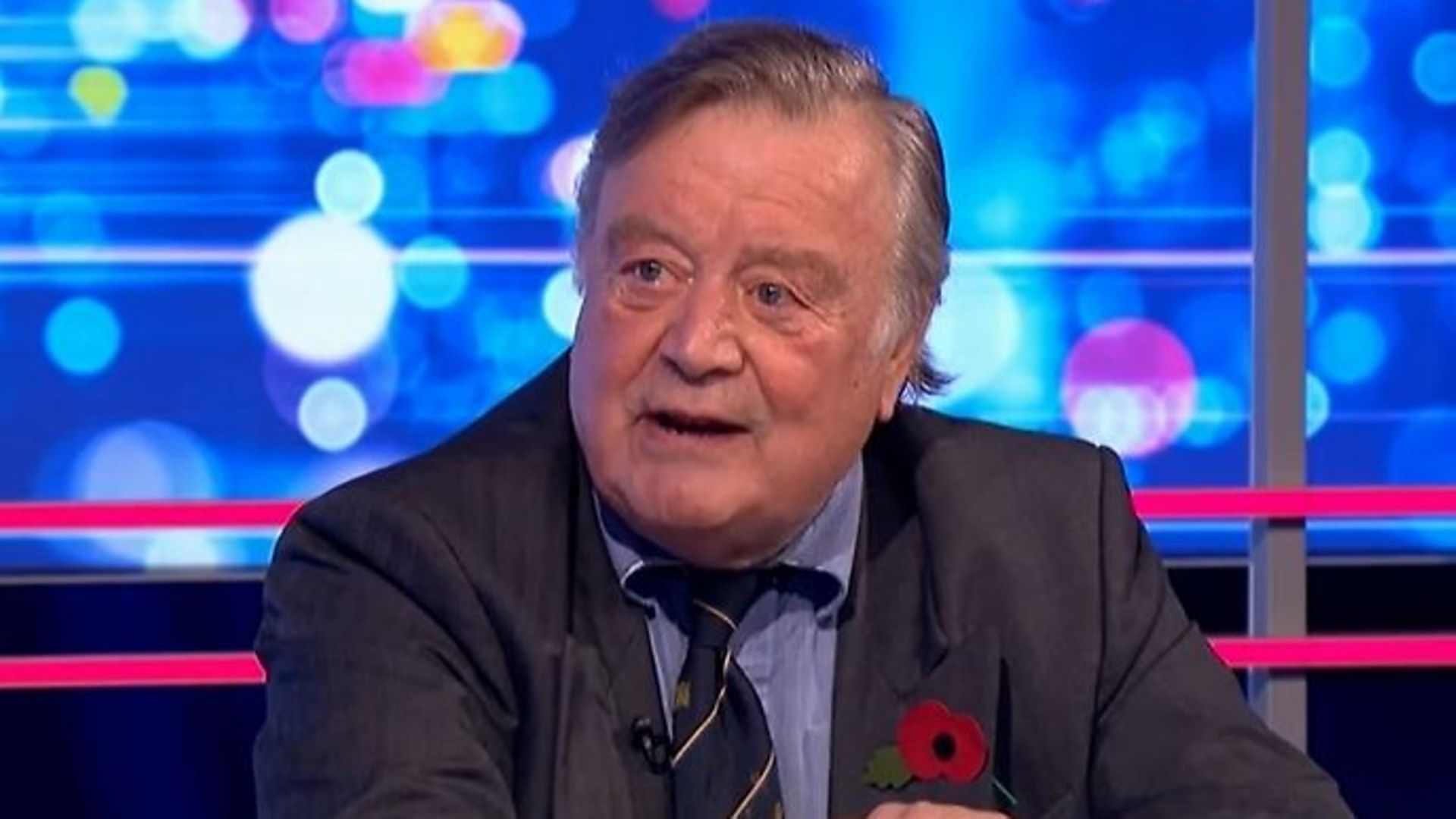 Former Conservative chancellor Ken Clarke on ITV's Peston show - Credit: Twitter