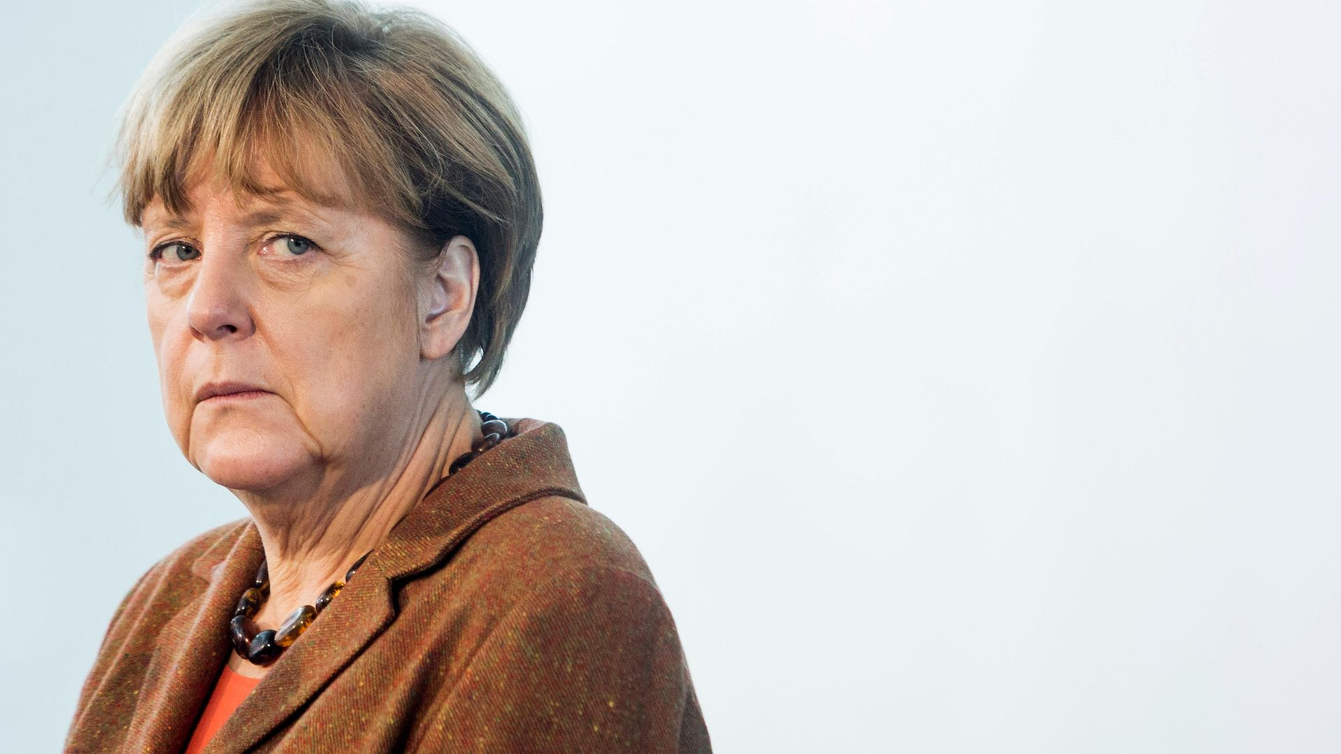 German chancellor Angela Merkel in 2015 (Photo by Zick,Jochen-Pool/Getty Images) - Credit: Getty Images