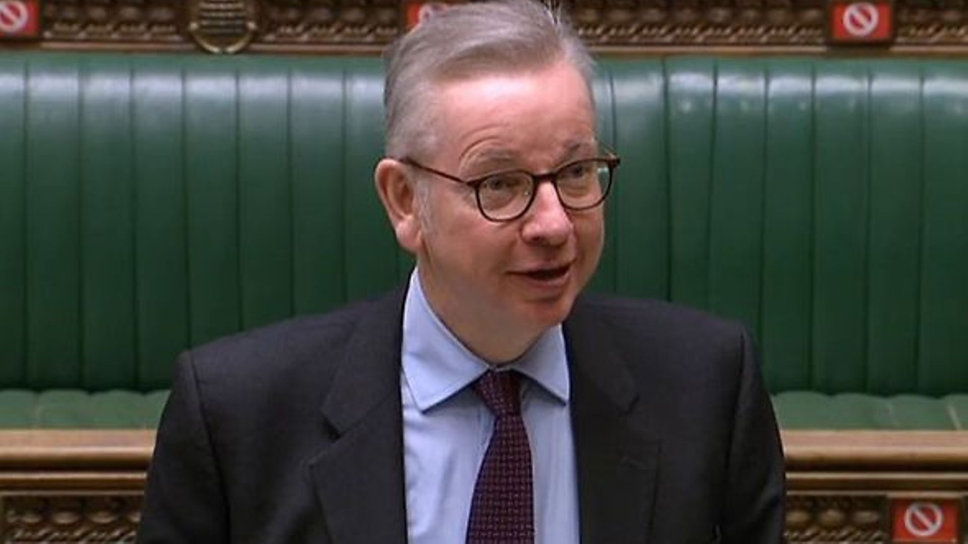 Michael Gove in the House of Commons - Credit: Parliament Live
