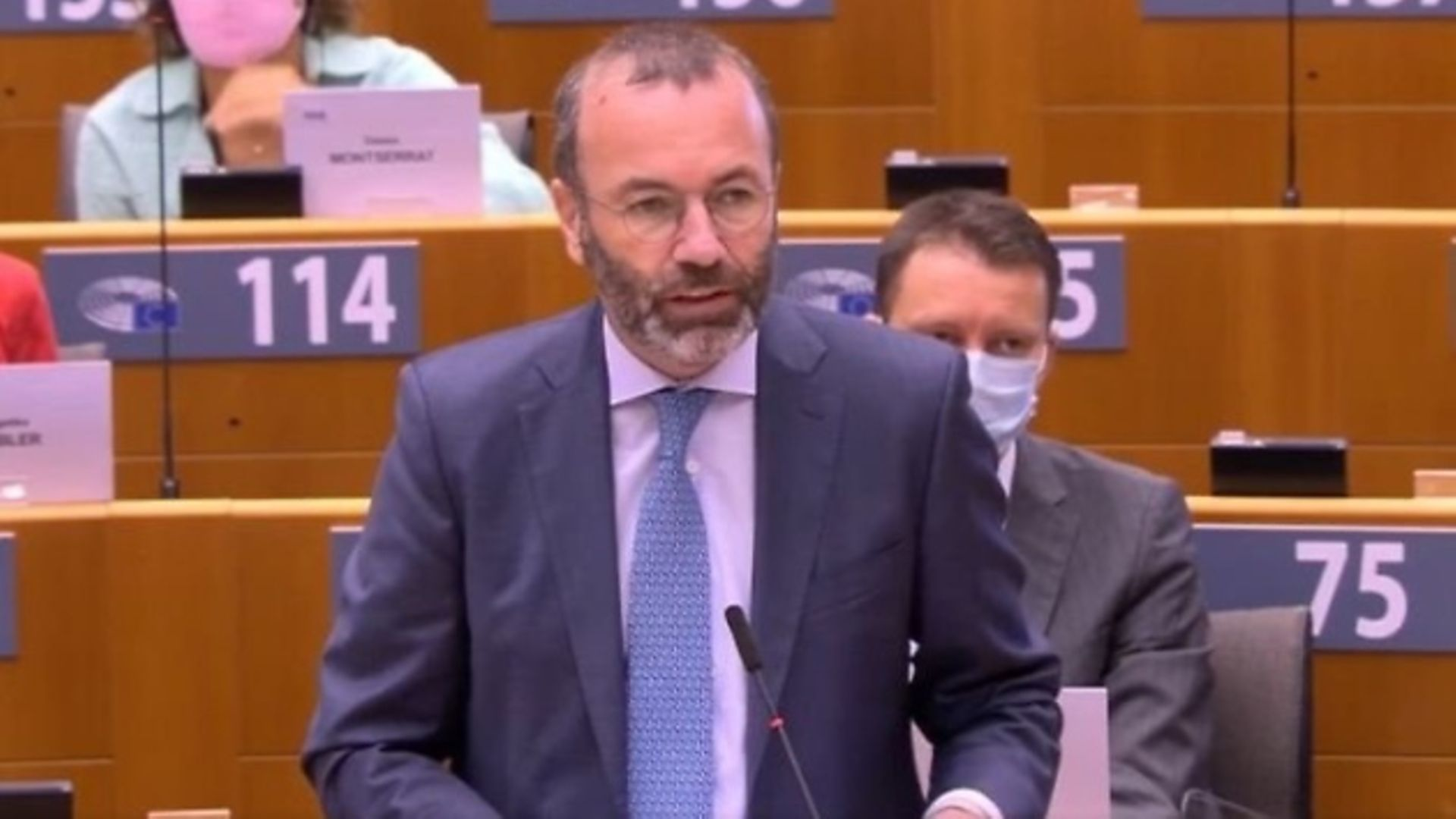 Manfred Weber in the European parliament - Credit: European parliament