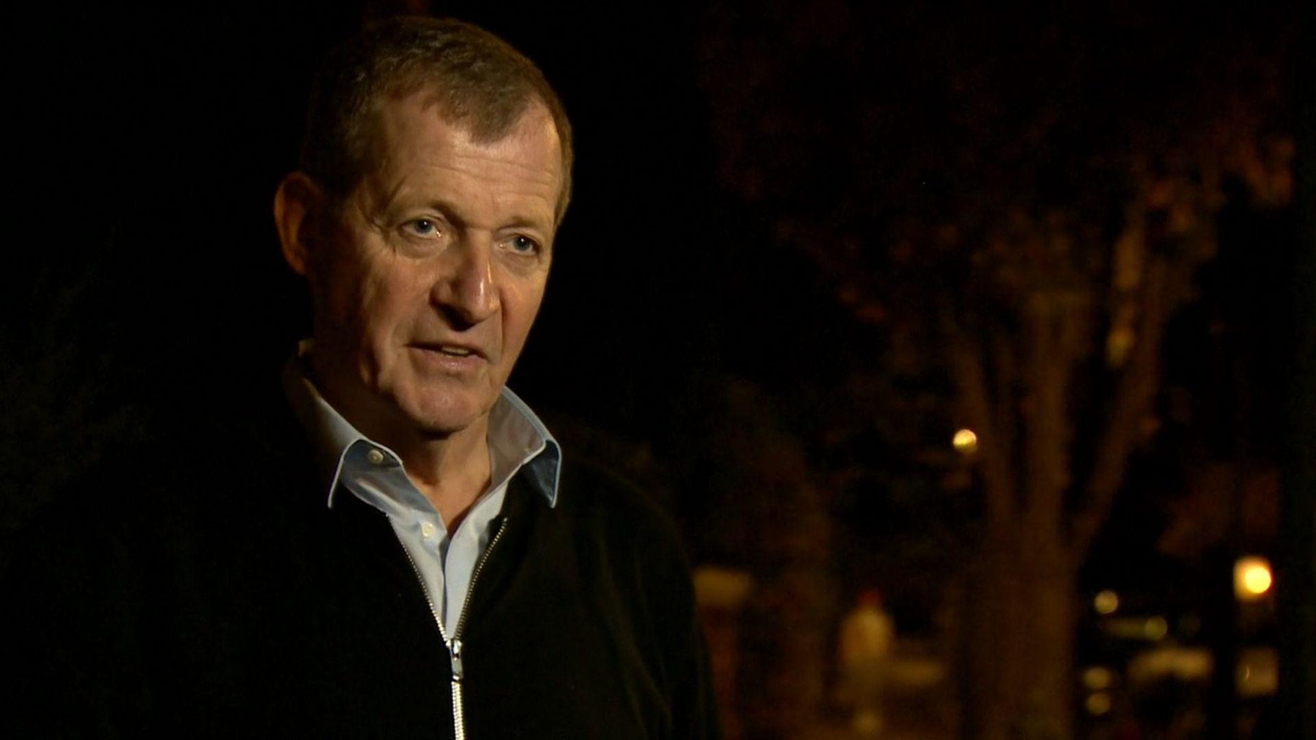 Alastair Campbell on BBC Newsnight - Credit: BBC