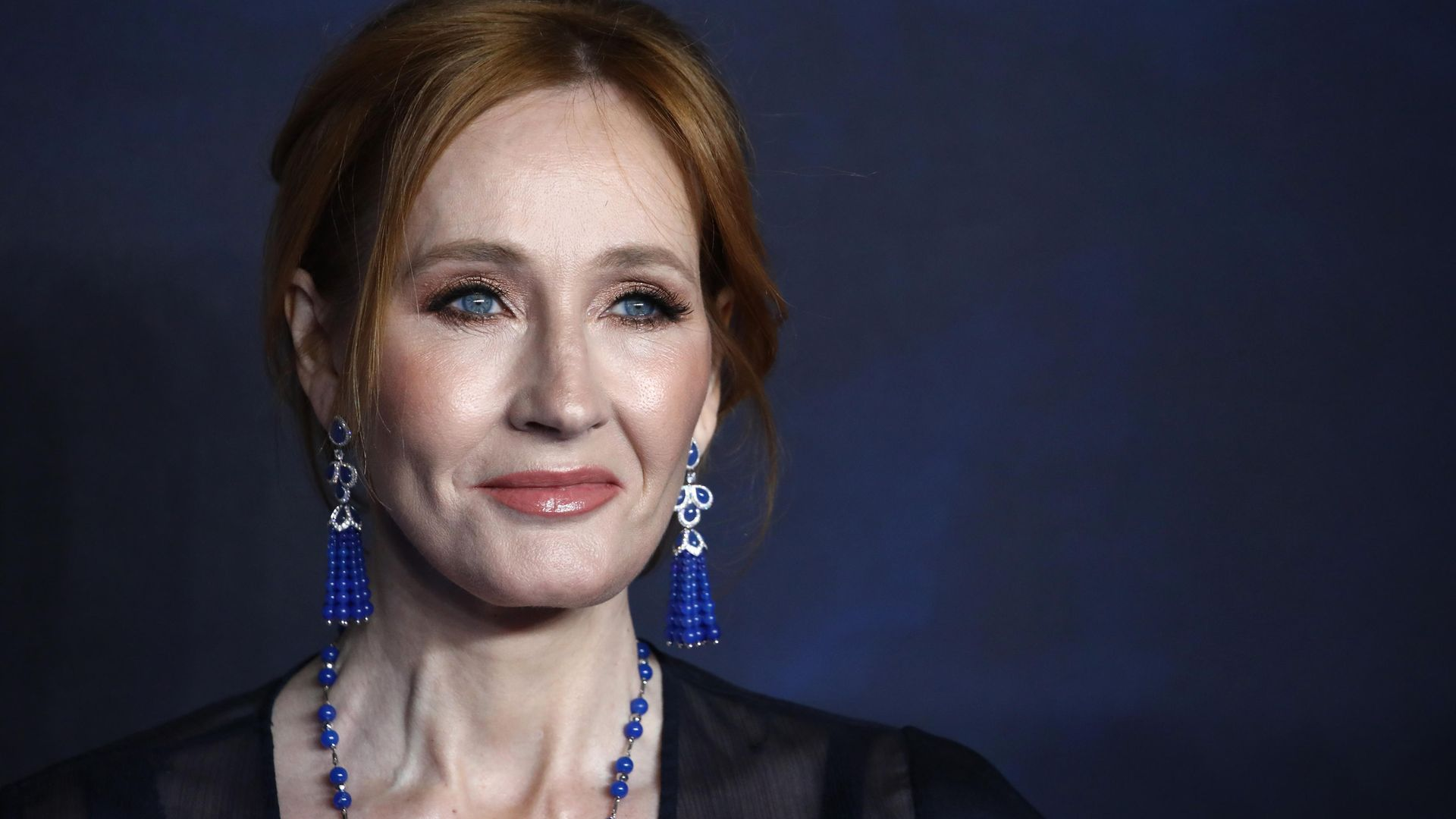 Writer J.K Rowling. Her views on transgenderism have seen her drawn into the debate over Scotland's proposed hate speech legislation - Credit: Getty Images