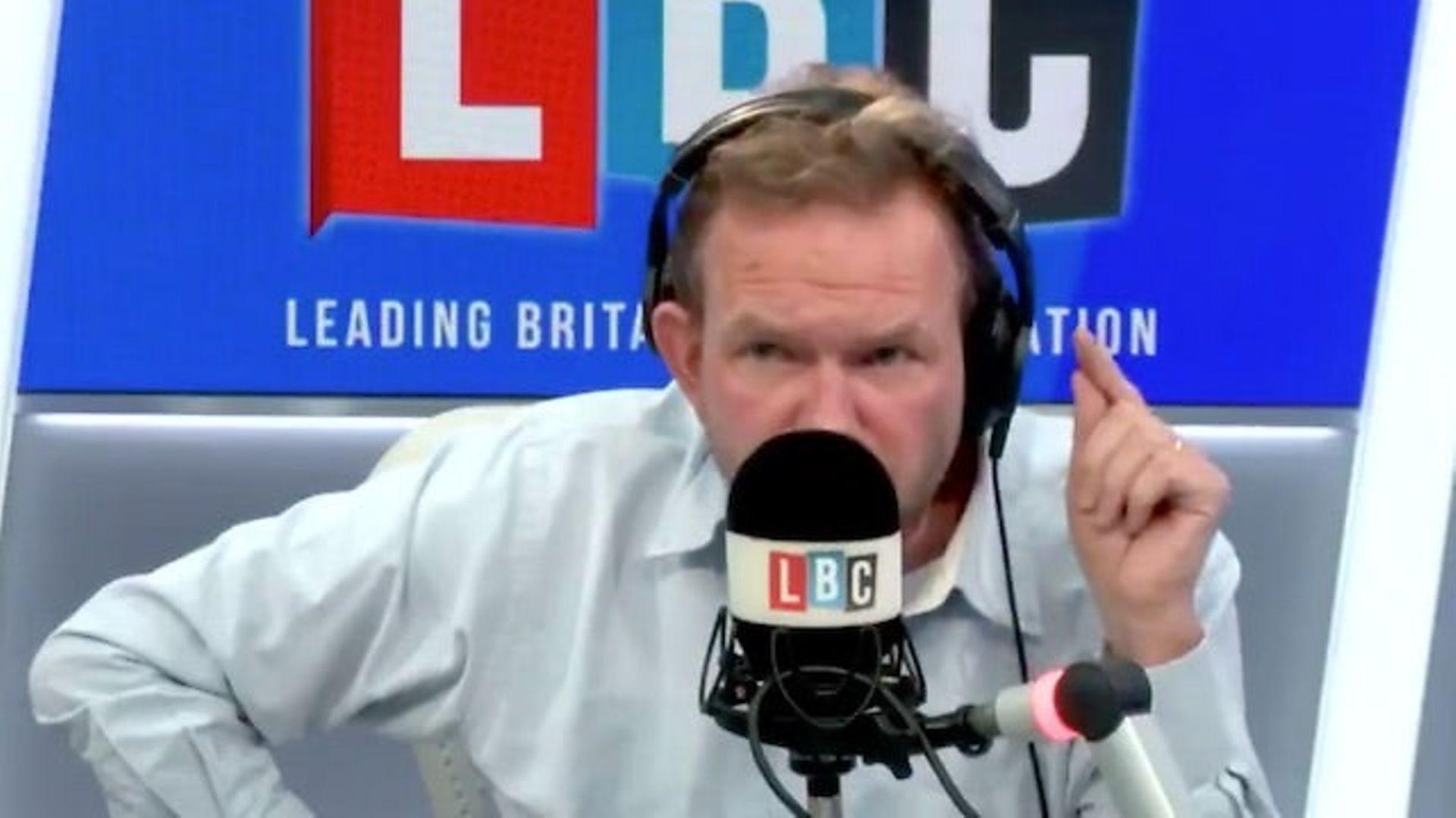 James O'Brien on LBC Radio - Credit: LBC/Global