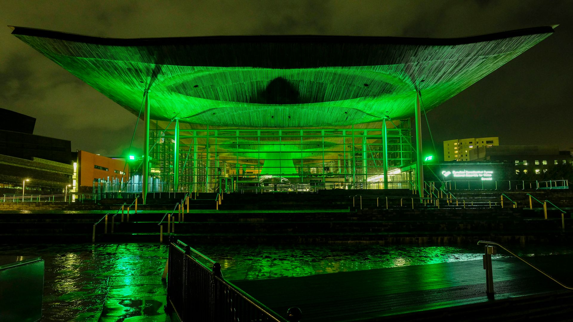The Senedd, home to the National Assembly for Wales in Cardiff - Credit: PA