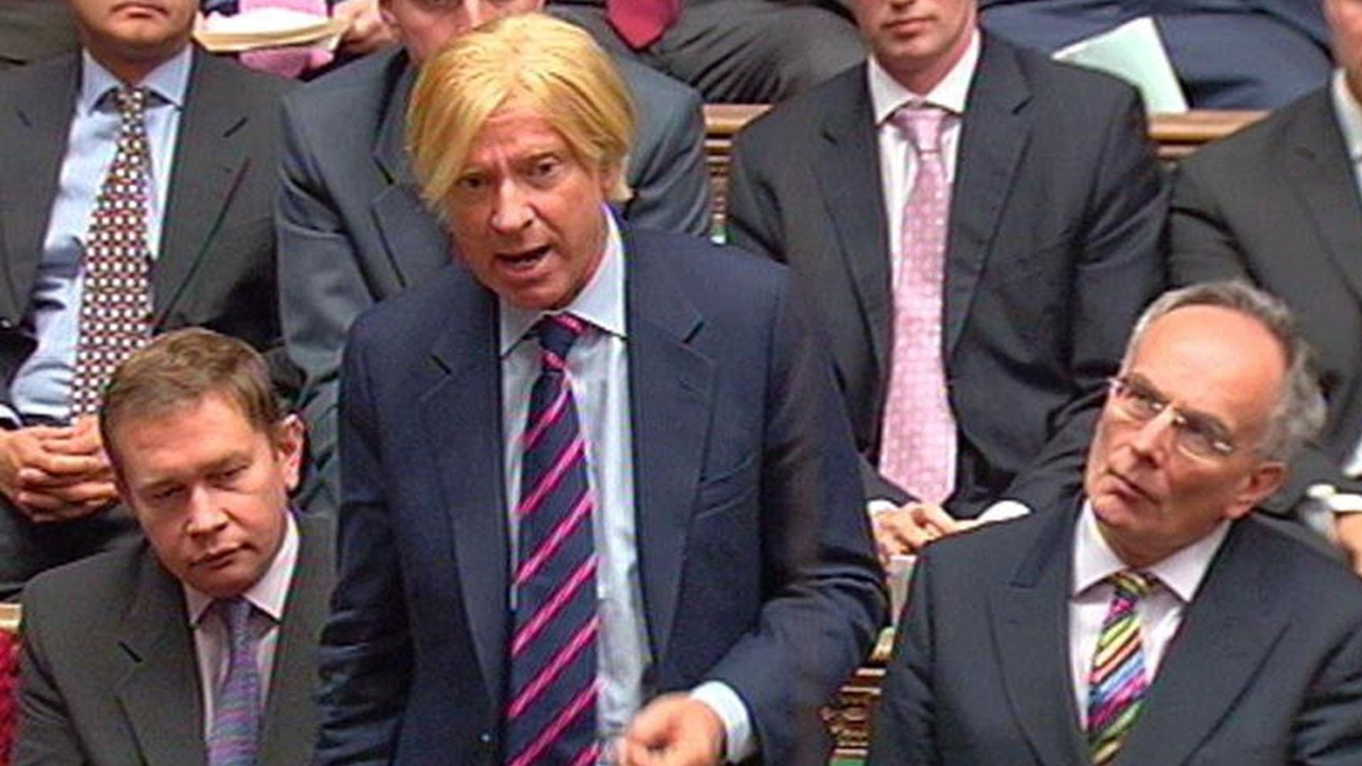 Michael Fabricant MP for Lichfield, speaks during Prime Minister's Questions in the House of Commons - Credit: PA