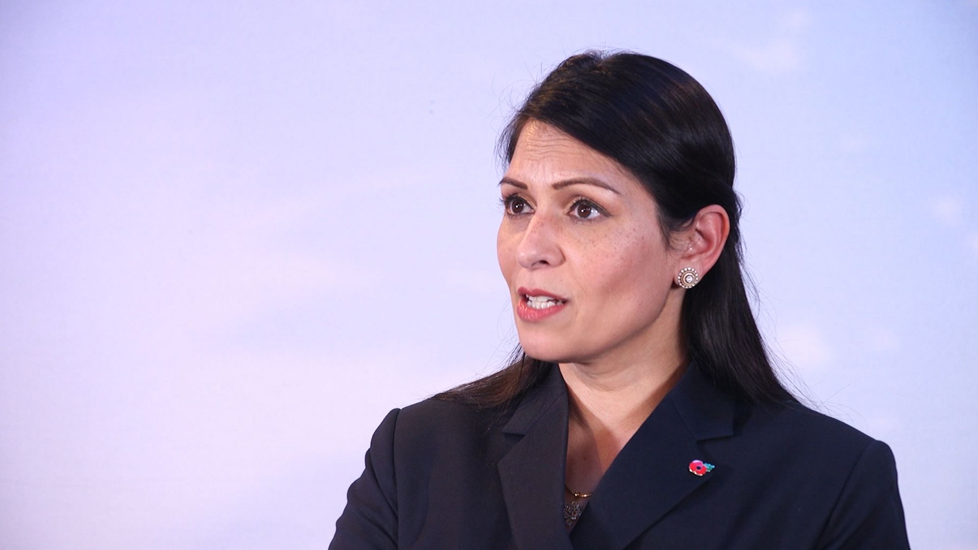 Home secretary Priti Patel - Credit: PA