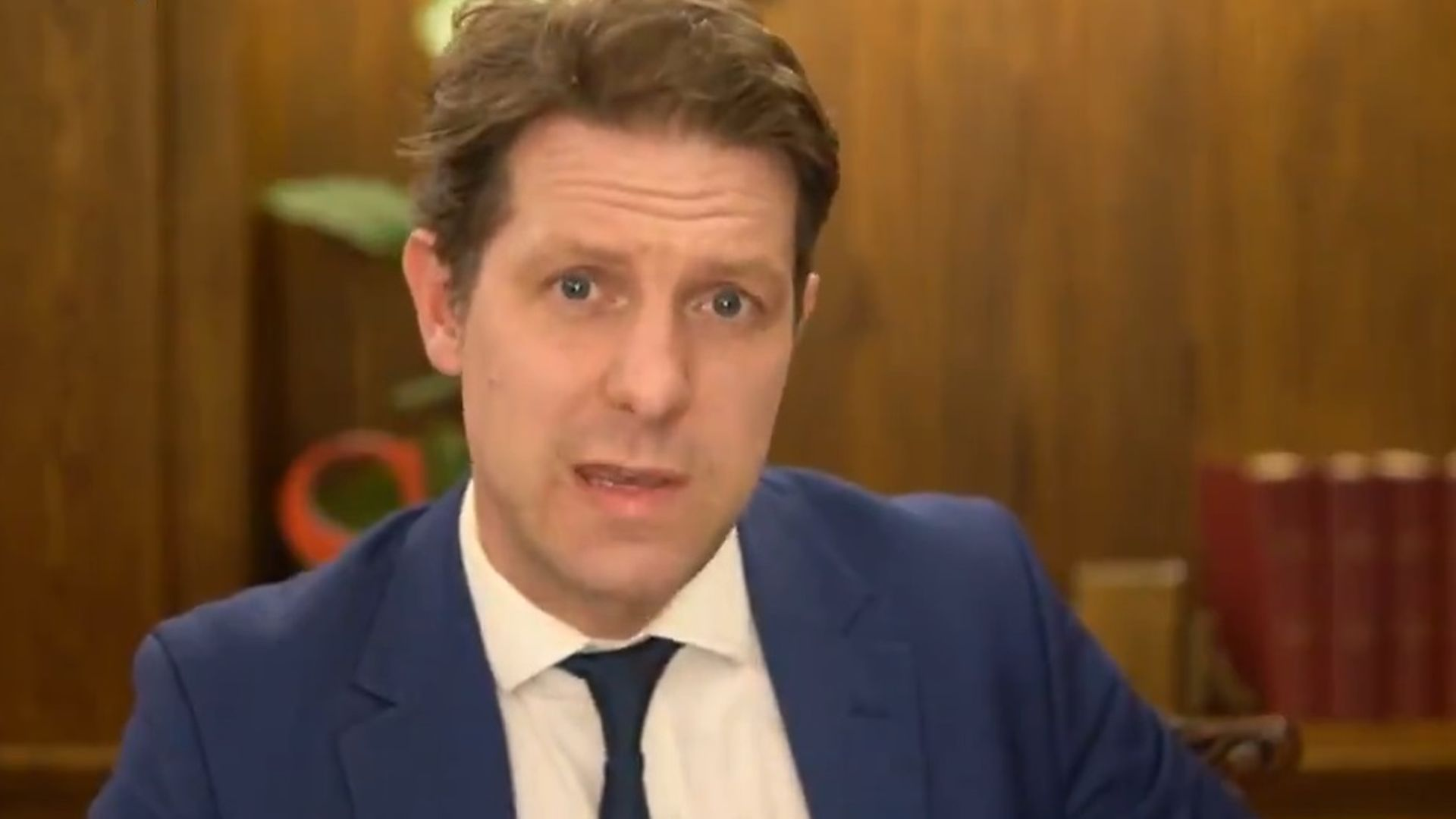 Fraser Nelson on BBC Question Time - Credit: BBC