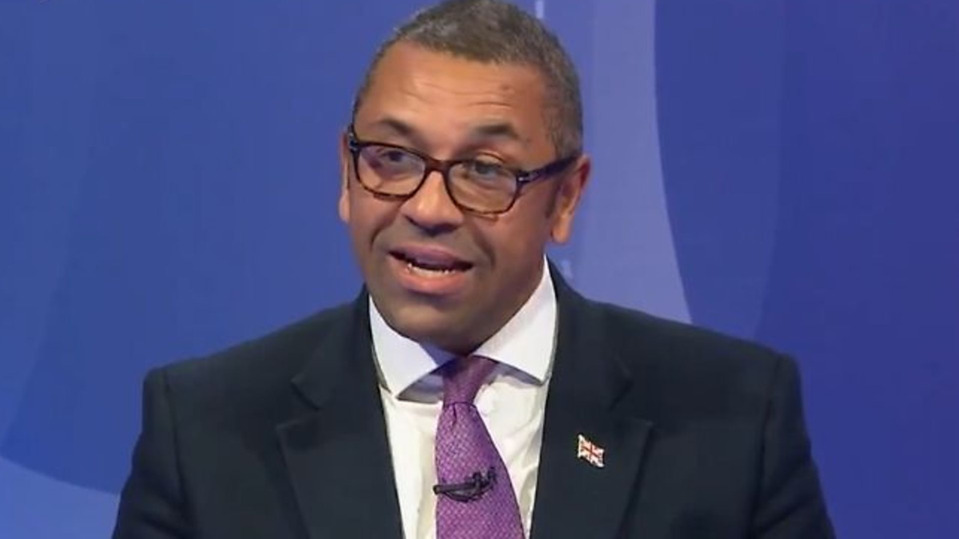 James Cleverly on Question Time - Credit: Twitter