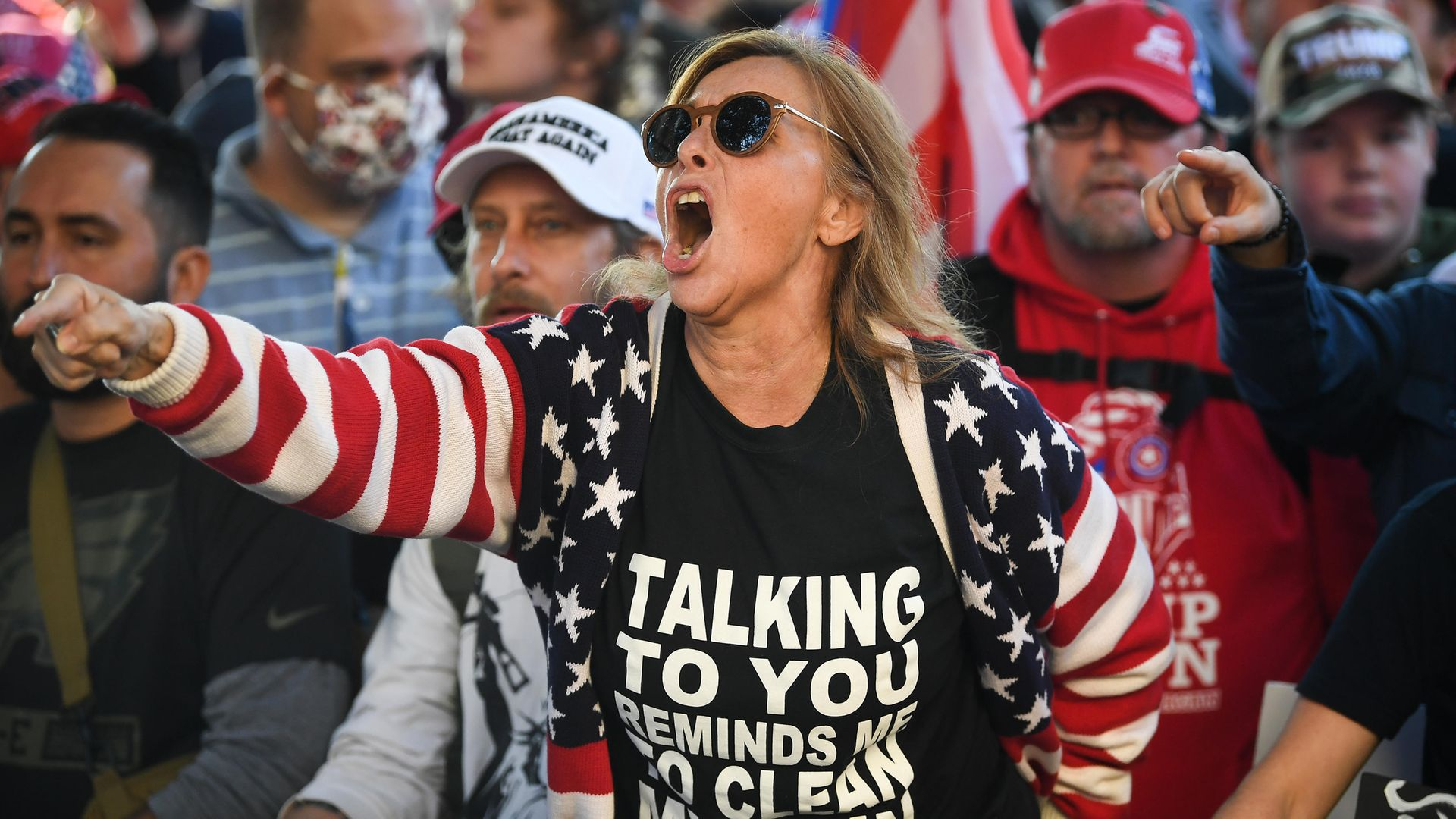 Pro-Trump supporters storming the Capitol Building in Washington D.C - Credit: CQ-Roll Call, Inc via Getty Images