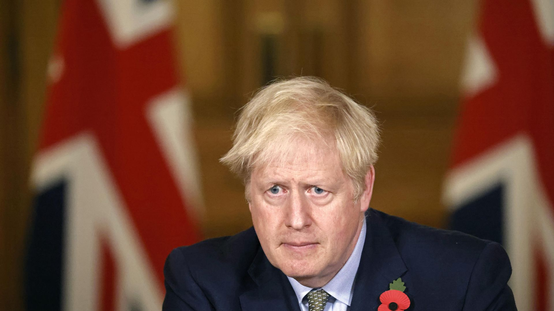 Prime Minister Boris Johnson during a media briefing in Downing Street, London, on coronavirus (COVID-19). - Credit: PA