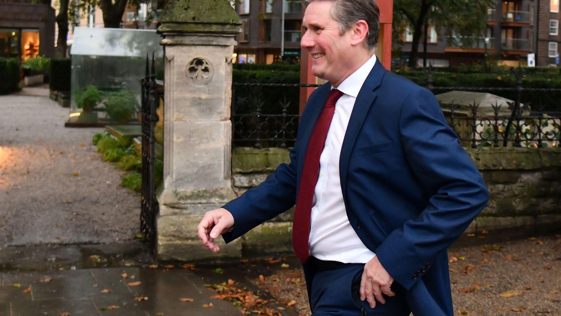 Labour leader Keir Starmer - Credit: AFP via Getty Images