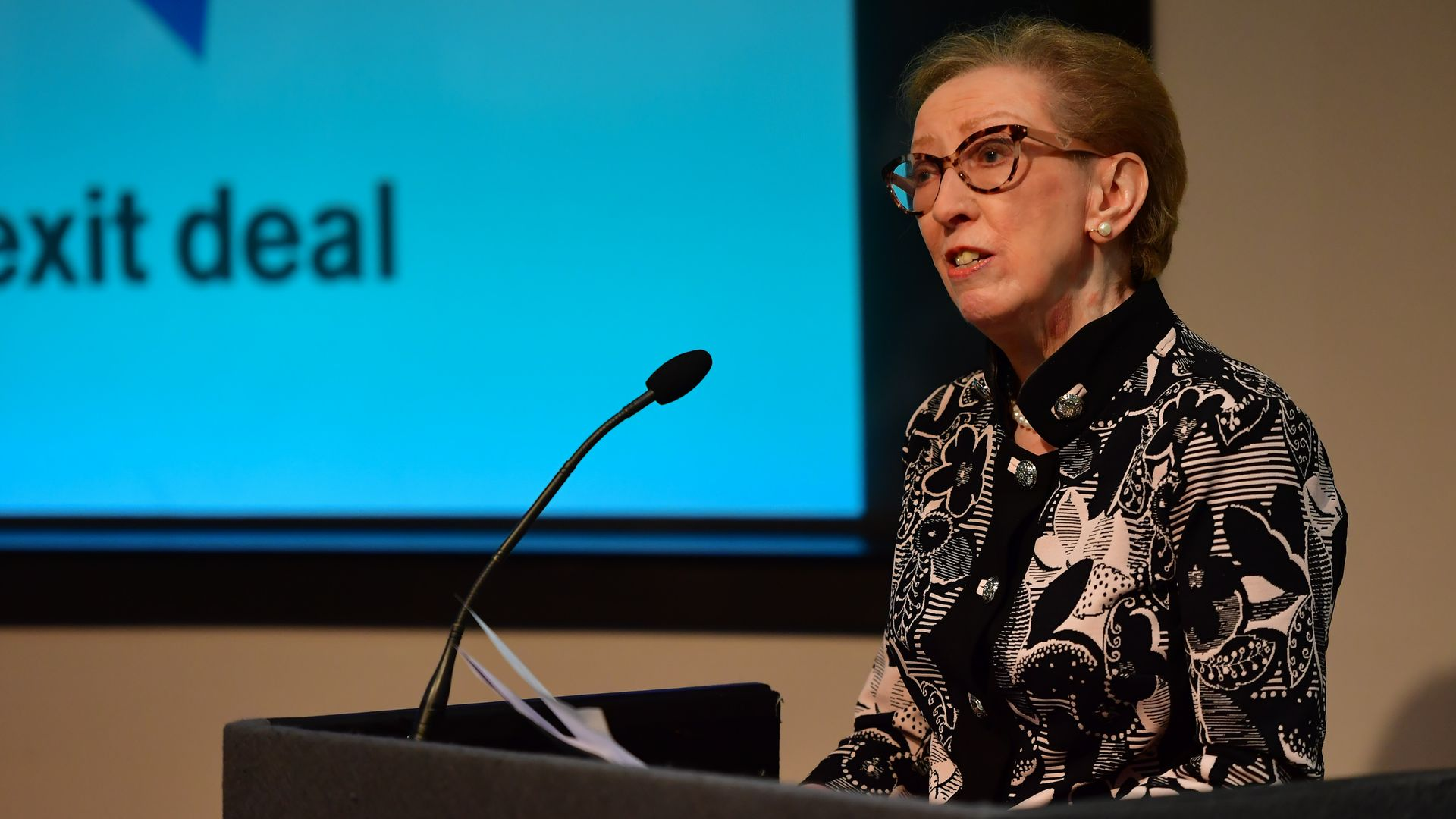 Dame Margaret Beckett (pictured above) has been elected the next chair of Labour's National Executive Committee - Credit: PA