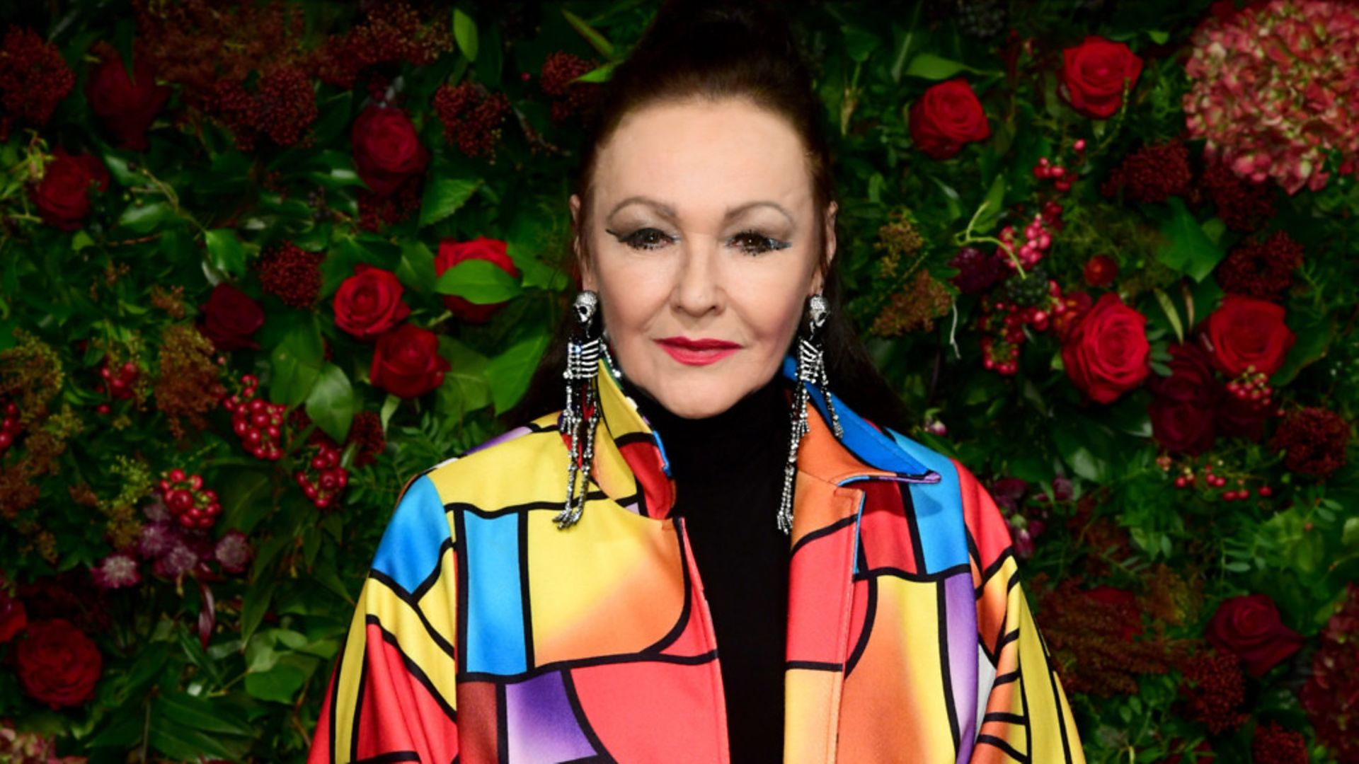 Frances Barber attending a theatre awards in London - Credit: PA