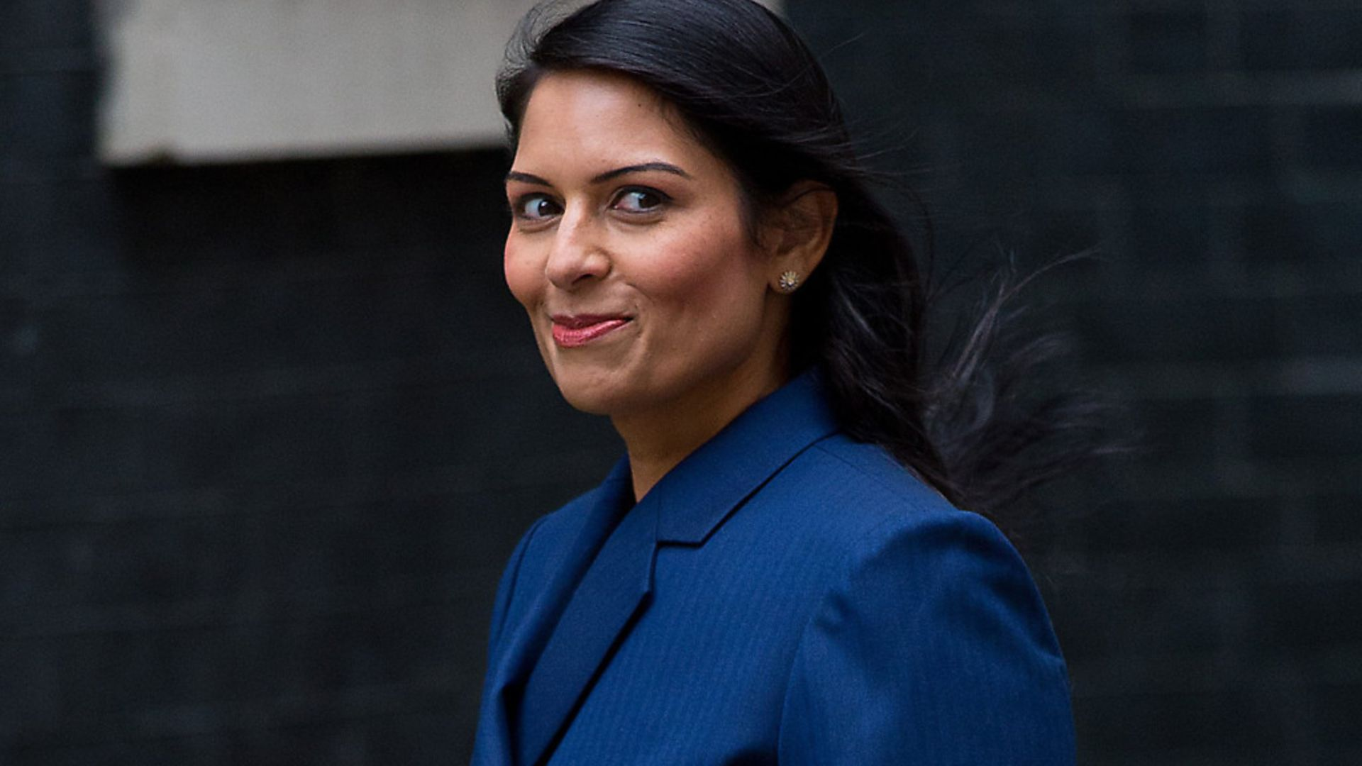Home secretary Priti Patel arriving at Downing Street - Credit: Getty Images