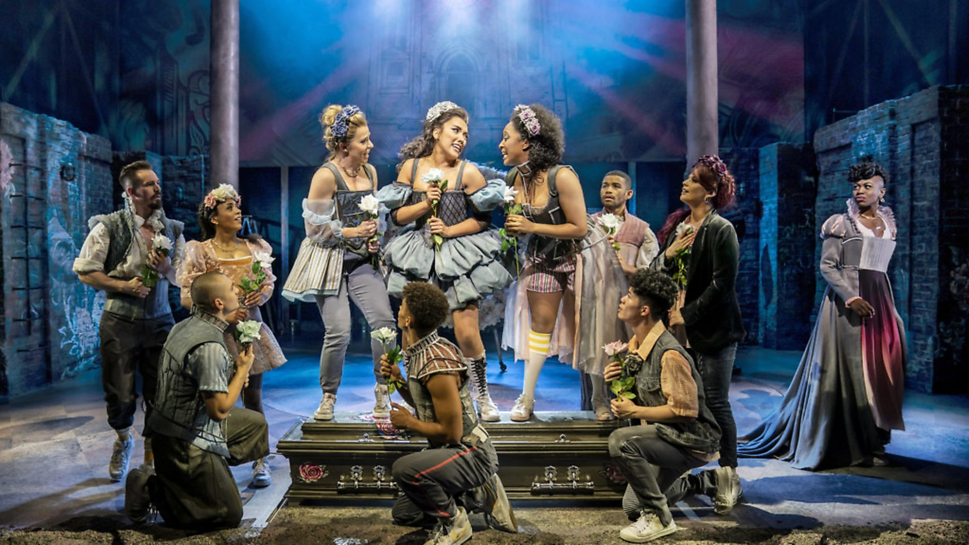 Tim Walker says '& juliet', at Shaftesbury Theatre in London, is let down by its lack of heart. Picture: Johan Persson - Credit: Archant