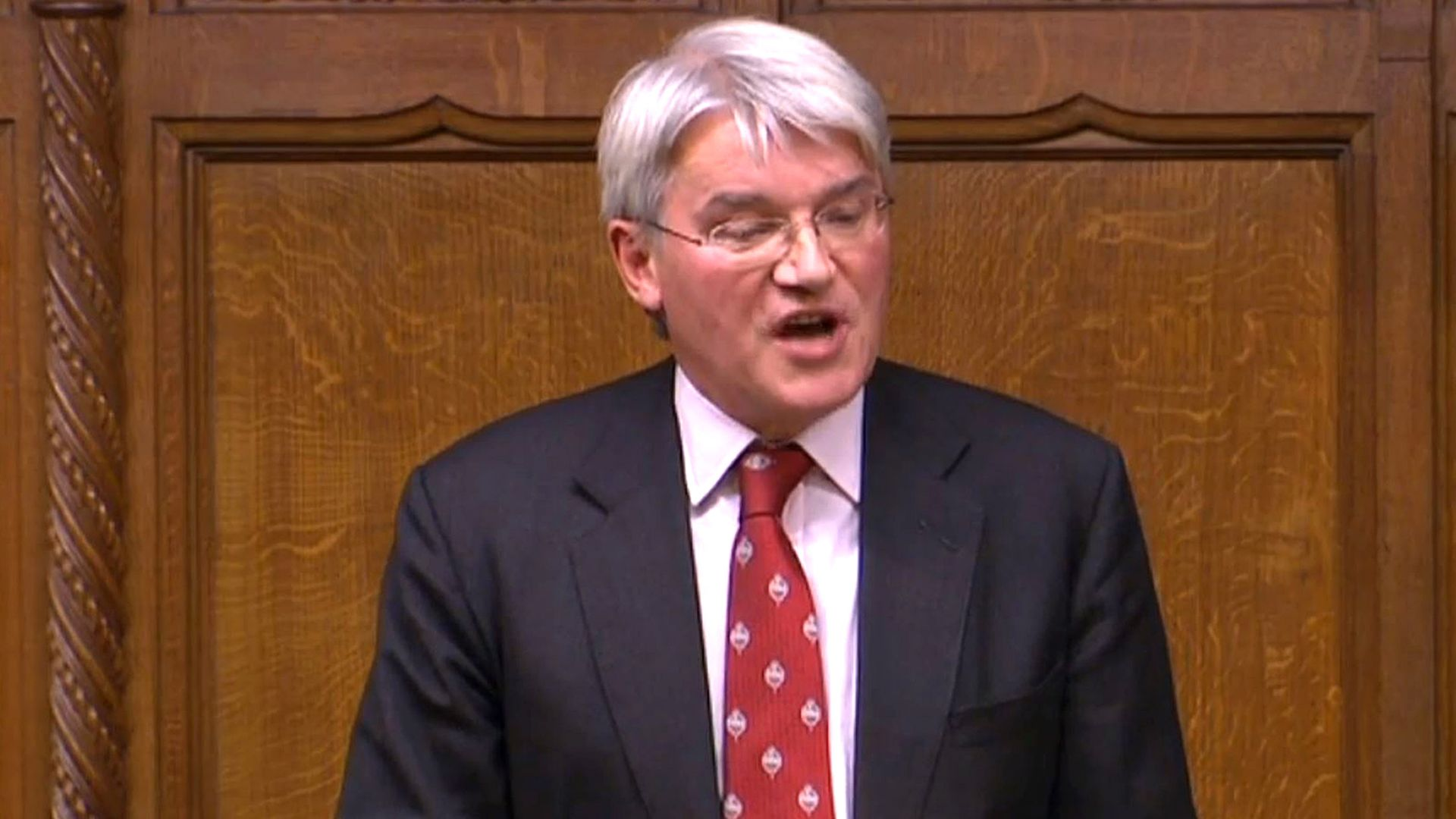 Conservative MP Andrew Mitchell speaks during an emergency debate on international action to protect civilians in Aleppo, Syria, in the House of Commons, London. - Credit: PA