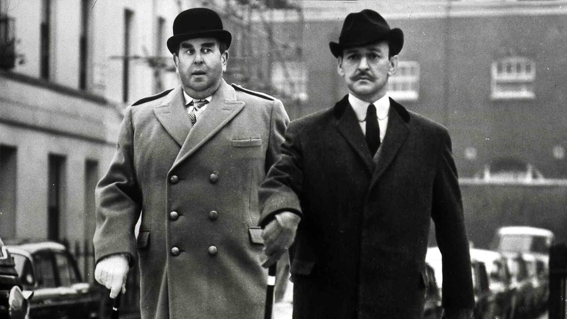 Tony Randall (right) as Poirot in The Alphabet Murders. - Credit: FilmPublicityArchive/United Arch