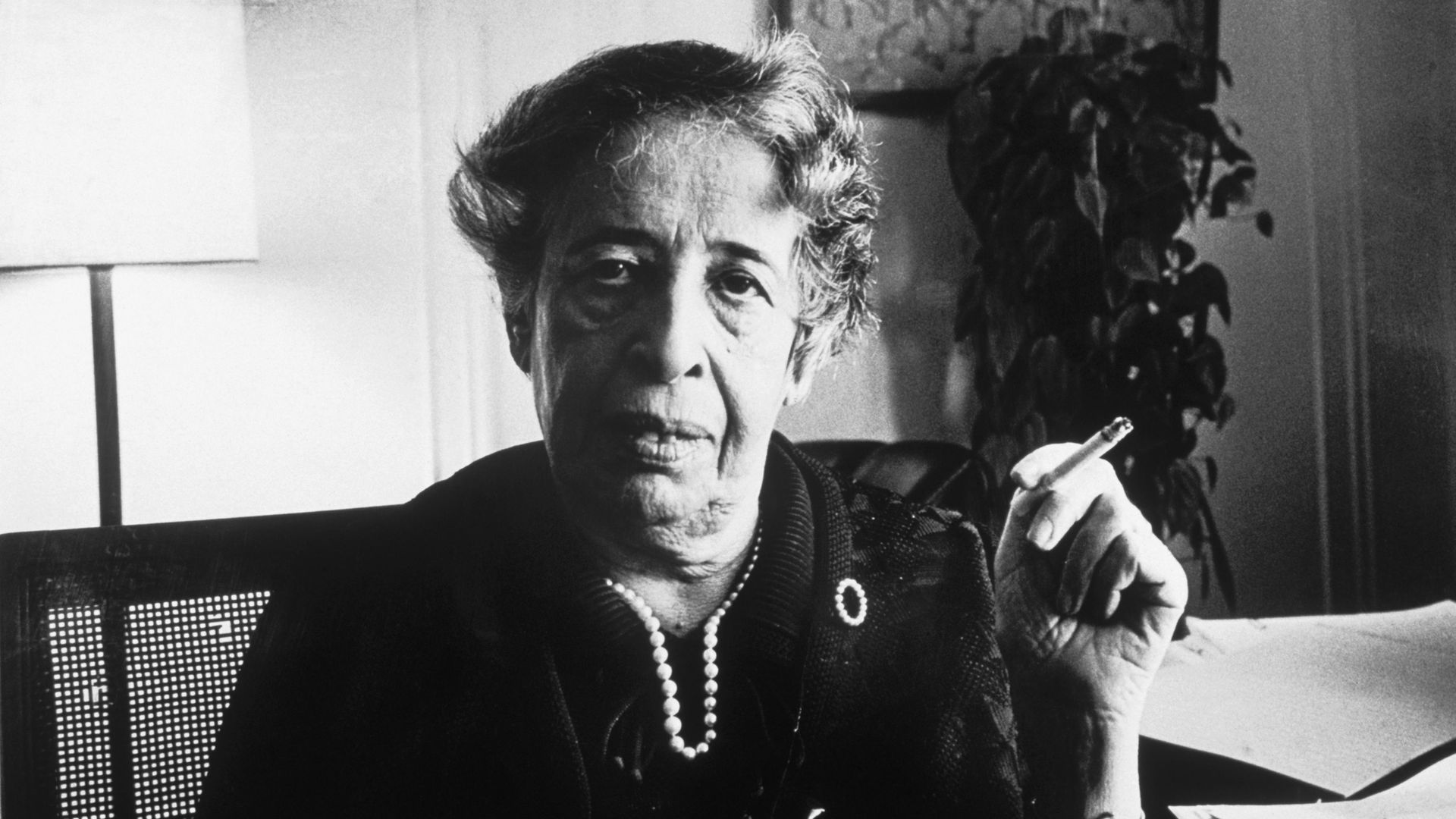 Hannah Arendt in 1972 - Credit: Getty Images