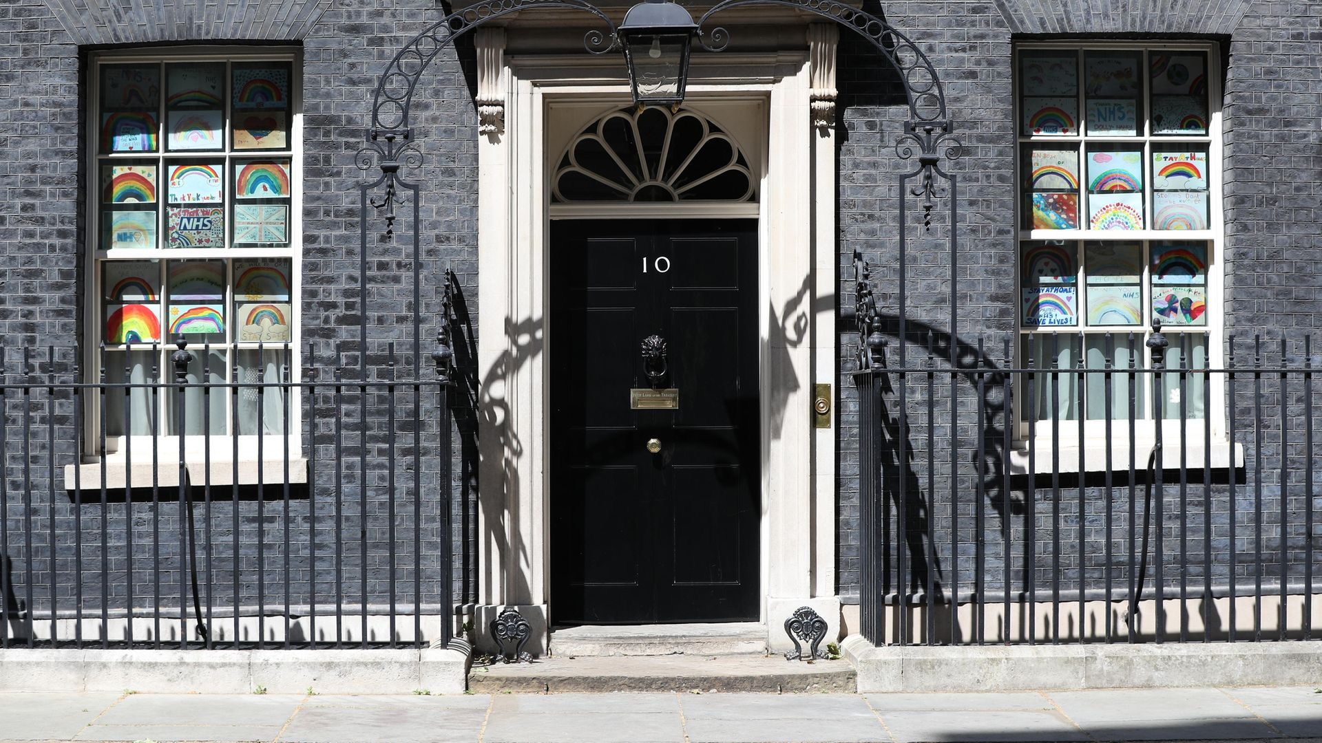 The door to 10 Downing Street - Credit: PA